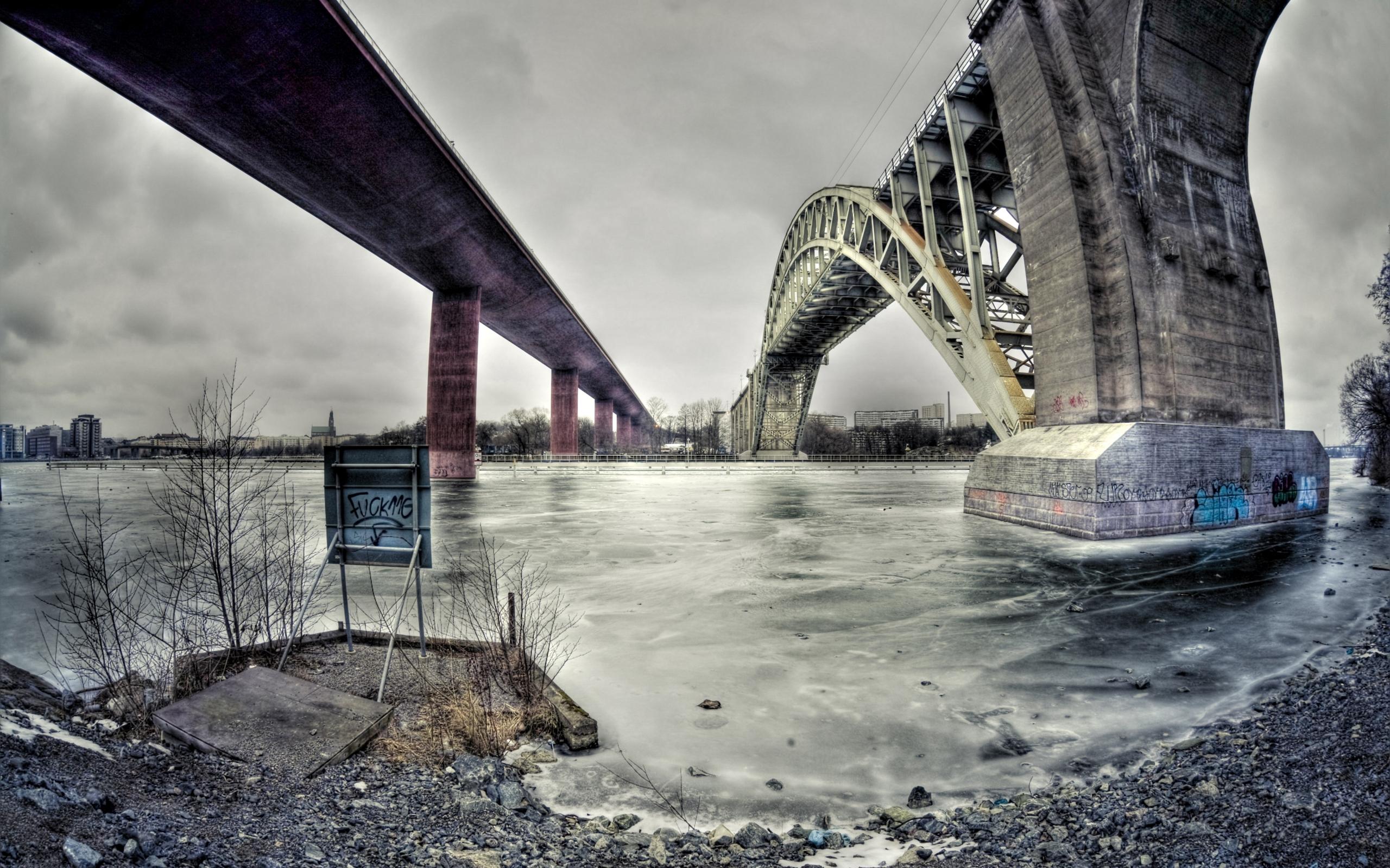 25625 скачать обои Пейзаж, Города, Река, Мосты, Архитектура - заставки и картинки бесплатно