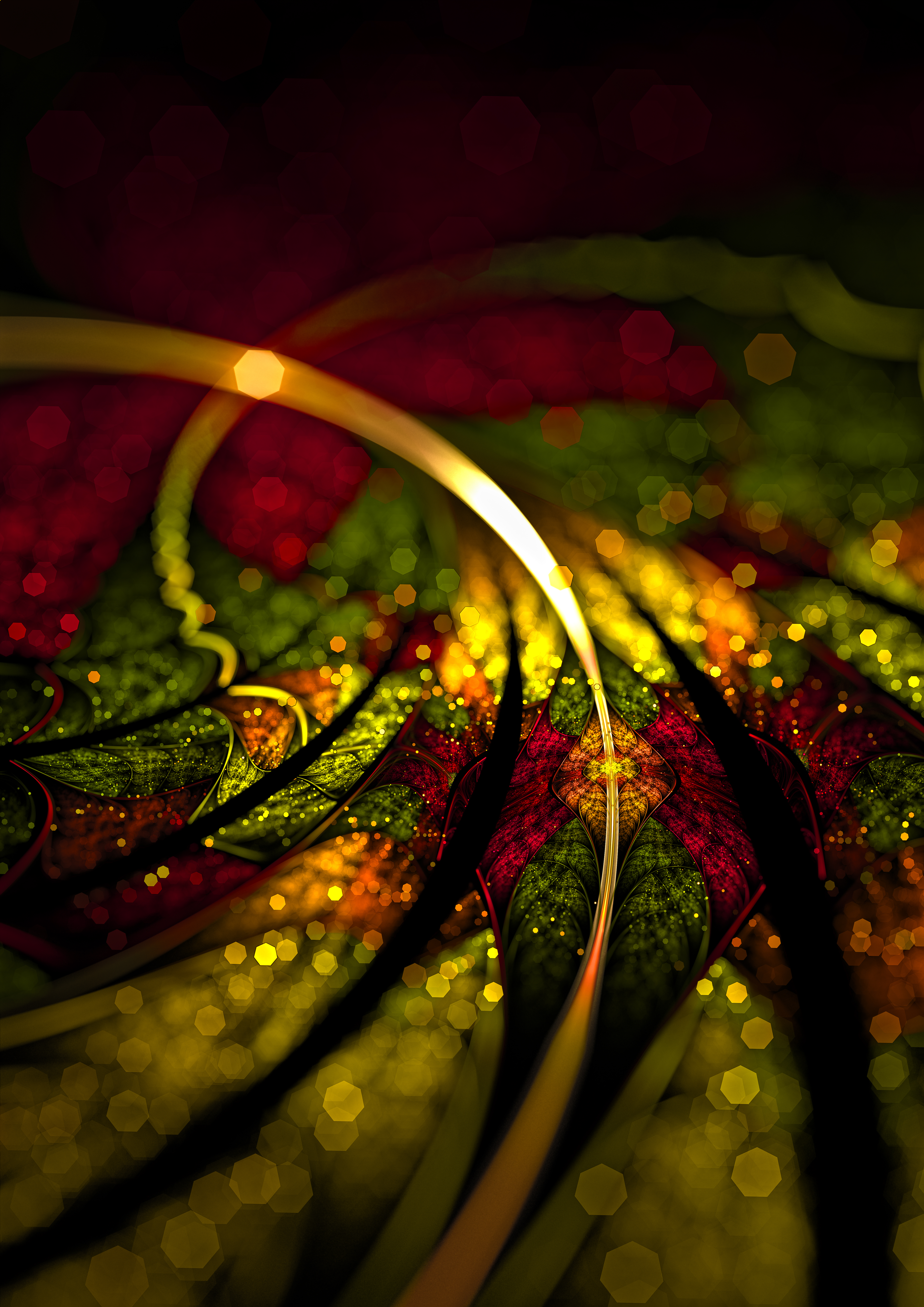 134386 download wallpaper Abstract, Fractal, Multicolored, Motley, Glare, Digital screensavers and pictures for free