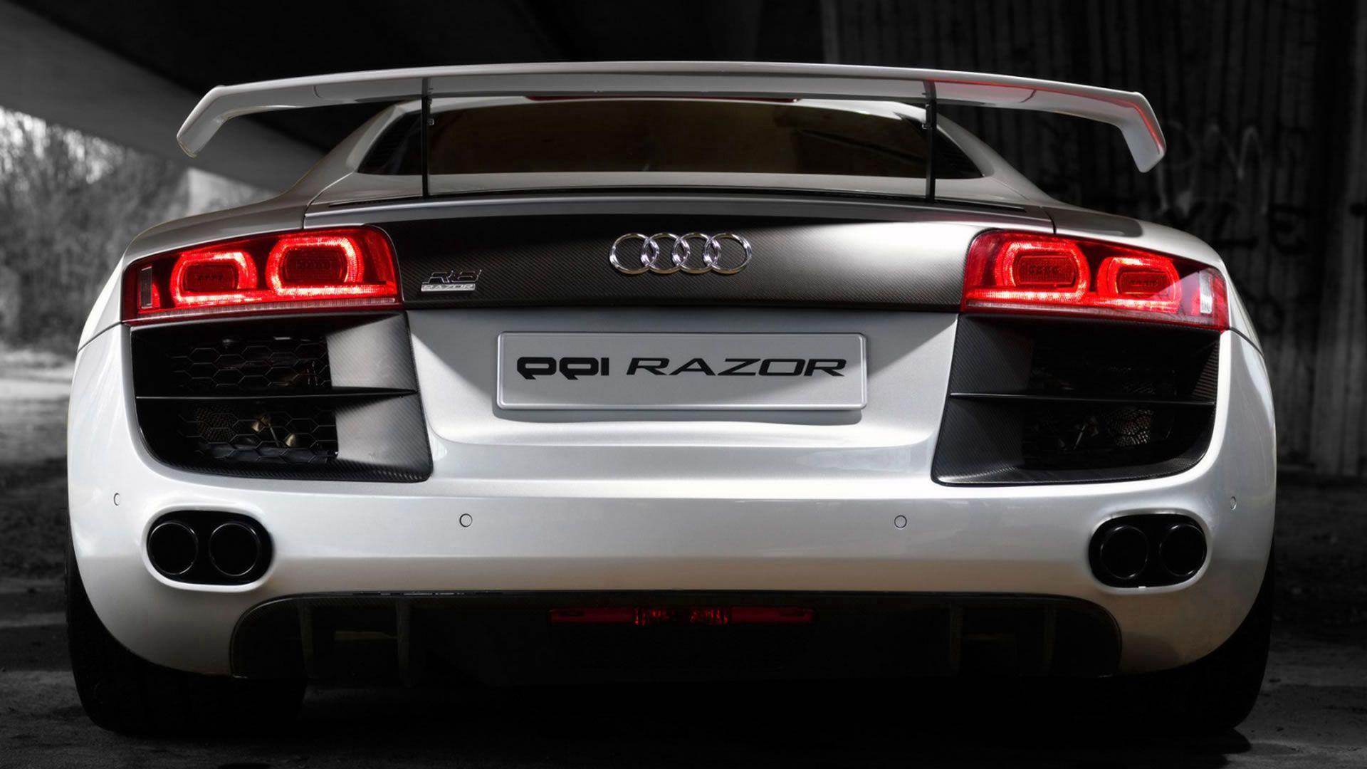 122540 Hintergrundbild herunterladen Auto, Audi, Cars, Symbole, Zeichen, Wagen, R8, Luxus - Bildschirmschoner und Bilder kostenlos