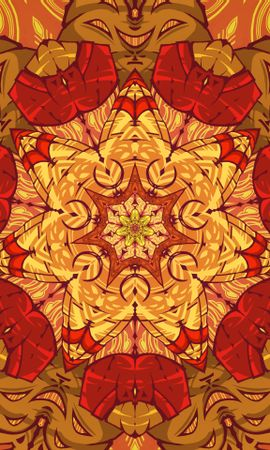 158102 download wallpaper Abstract, Pattern, Mandala, Motley, Variegated screensavers and pictures for free