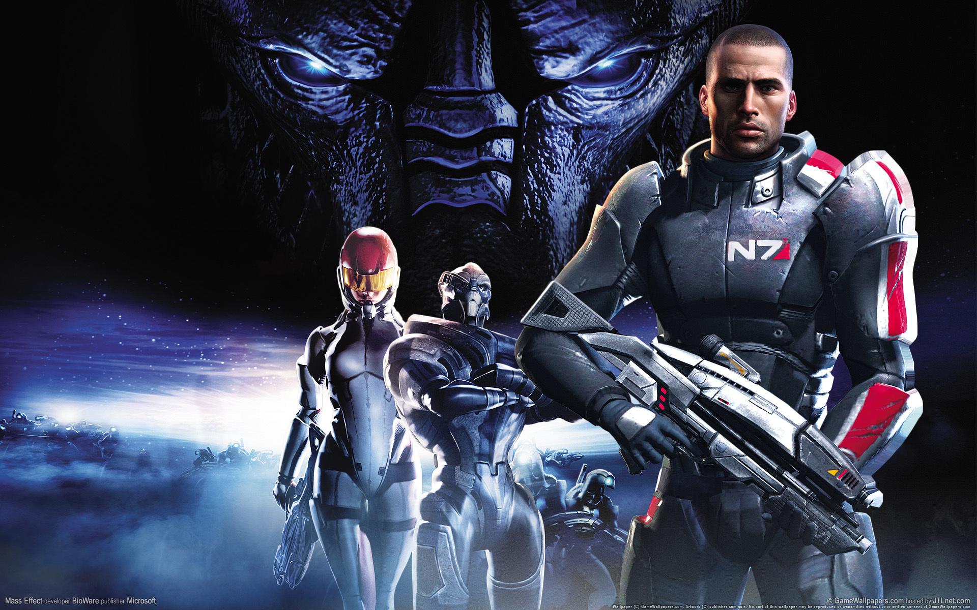 9834 télécharger le fond d'écran Jeux, Mass Effect - économiseurs d'écran et images gratuitement