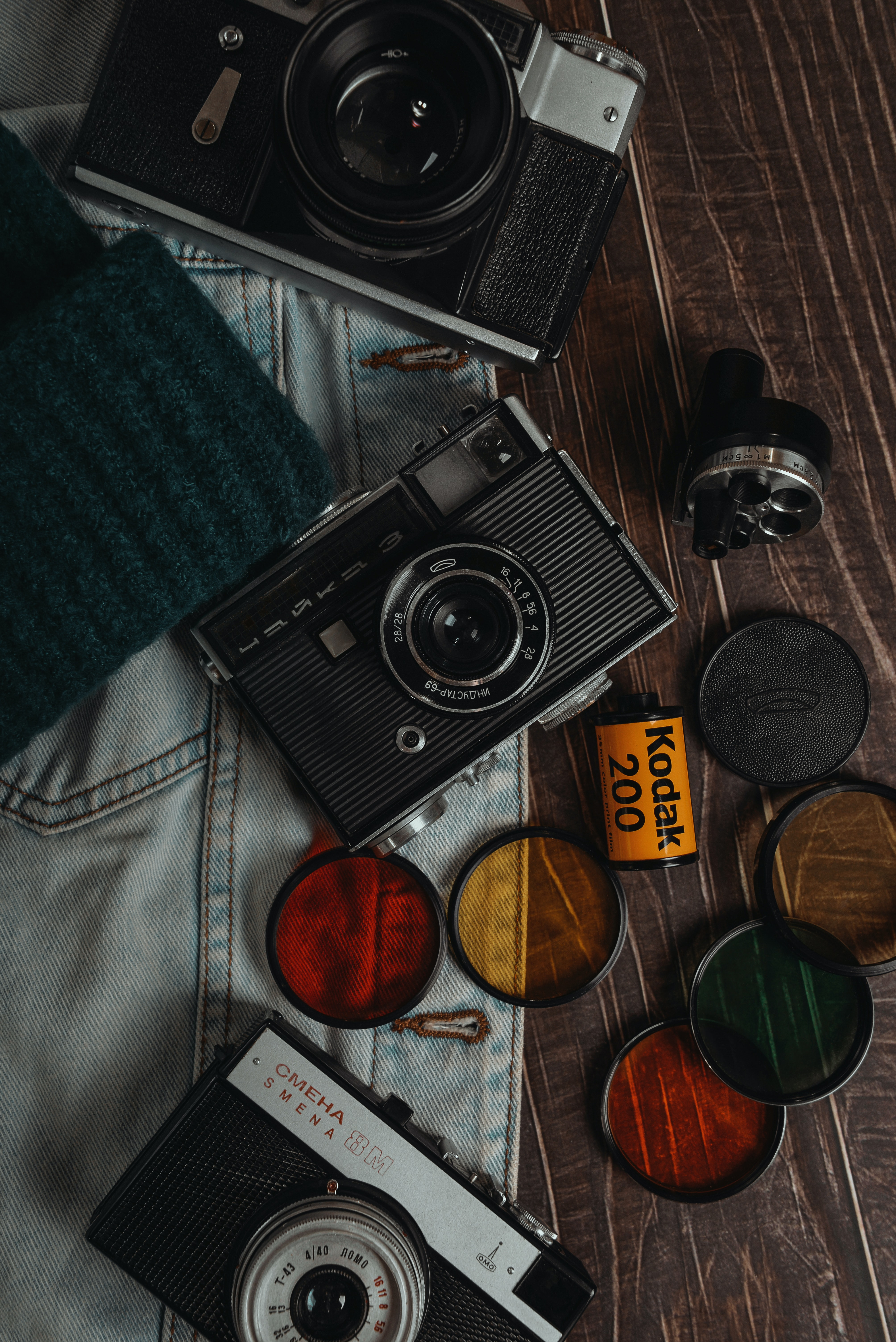 55293 download wallpaper Old, Retro, Lenses, Technologies, Technology, Cameras screensavers and pictures for free