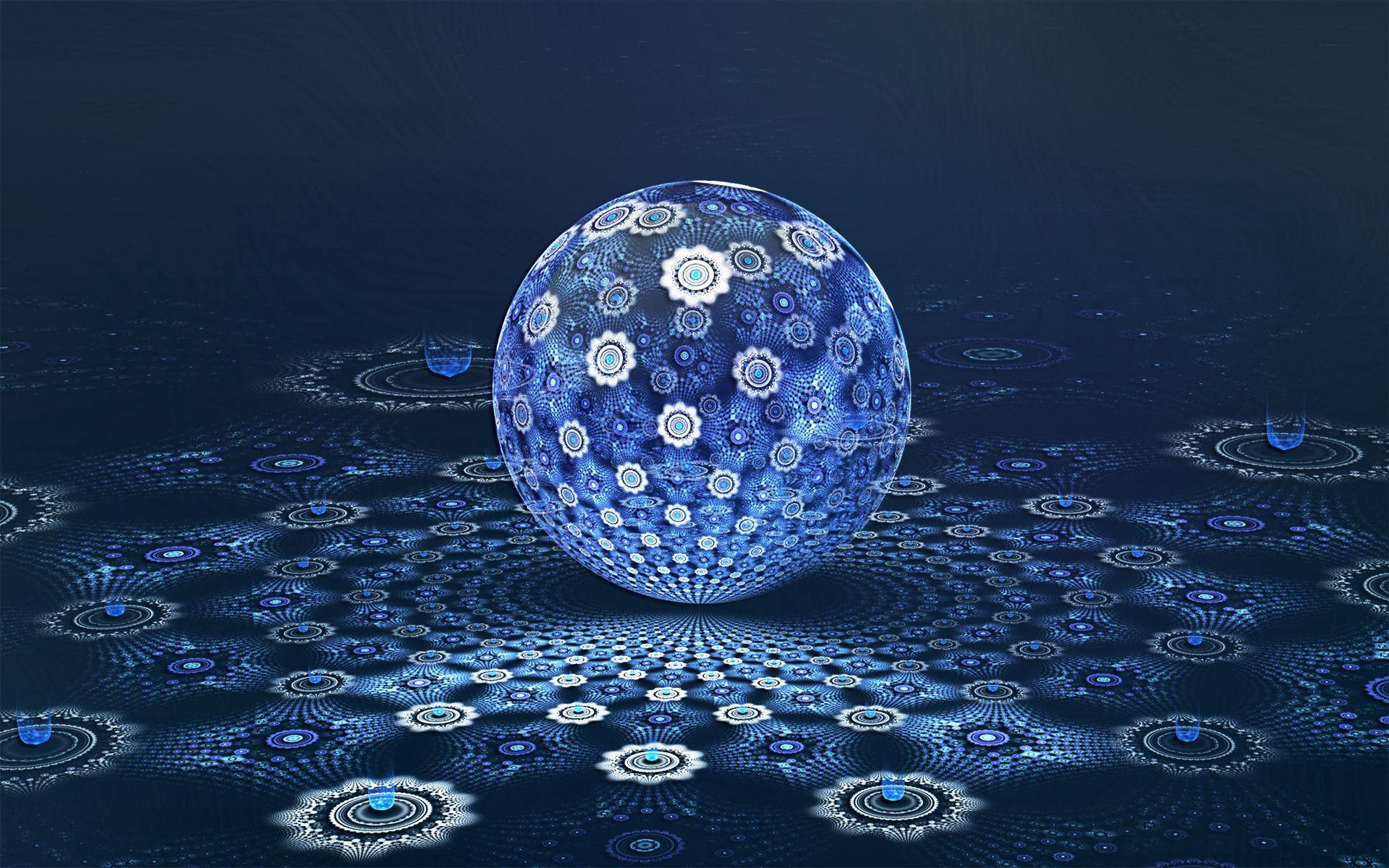 131284 завантажити шпалери Абстракція, Куля, М'яч, Простір, Фон, Темний - заставки і картинки безкоштовно