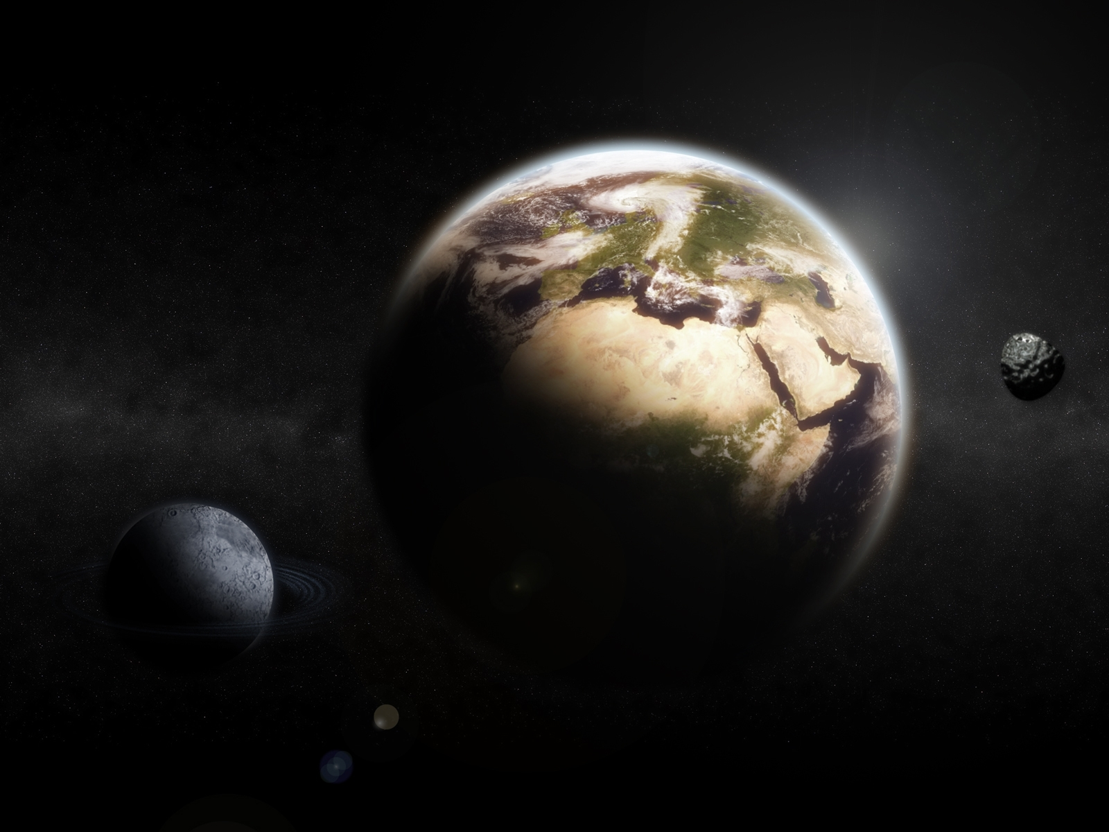 725 download wallpaper Landscape, Art, Planets, Universe screensavers and pictures for free