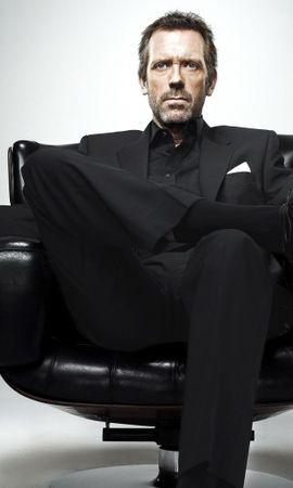 36536 télécharger le fond d'écran Cinéma, Personnes, Acteurs, Hommes, Dr House, Hugh Laurie - économiseurs d'écran et images gratuitement