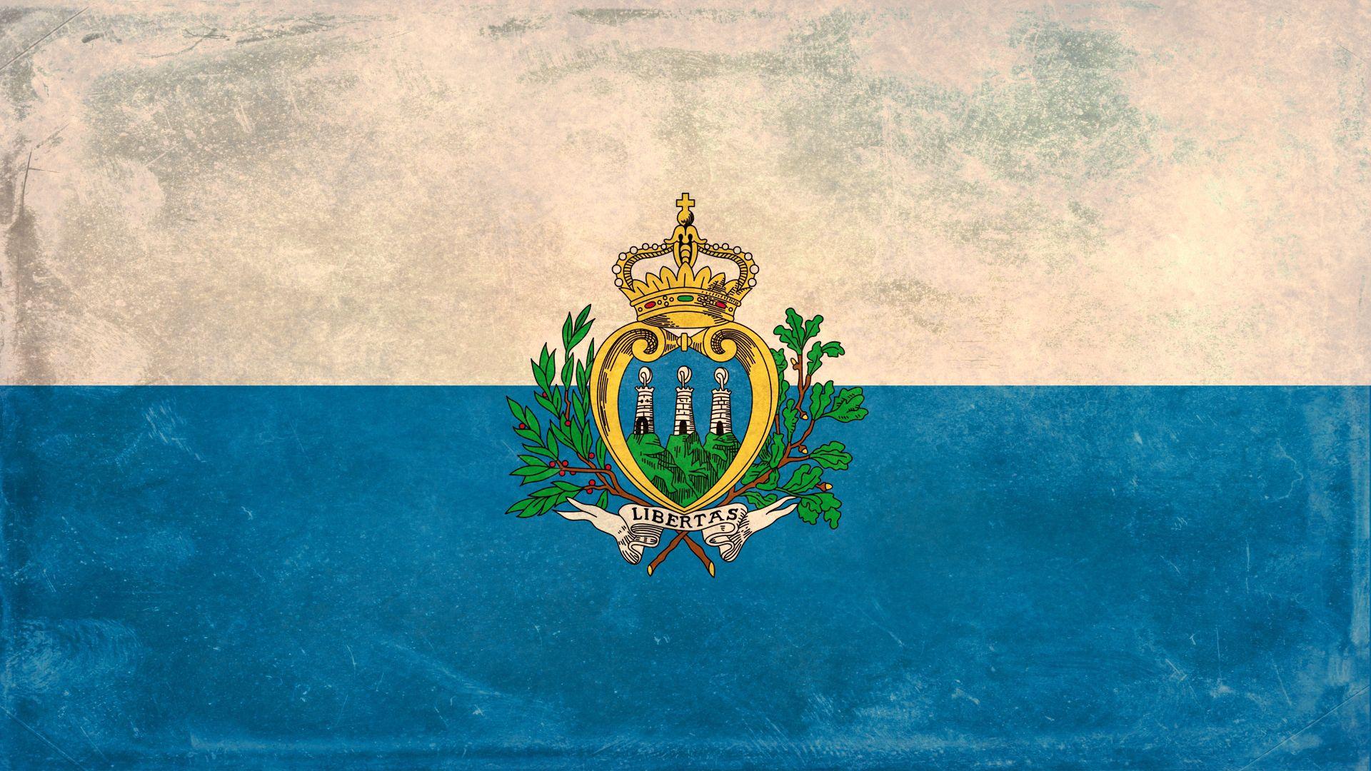 73472 скачать обои Текстуры, Флаг, Сан-Марино, Текстура, Фон, Краска, Пятна - заставки и картинки бесплатно