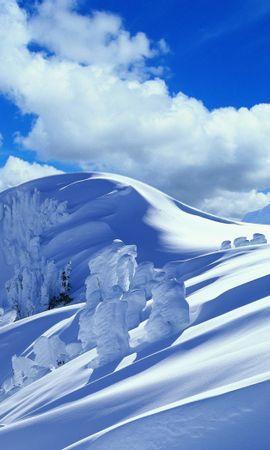 33662 скачать обои Пейзаж, Горы, Снег - заставки и картинки бесплатно