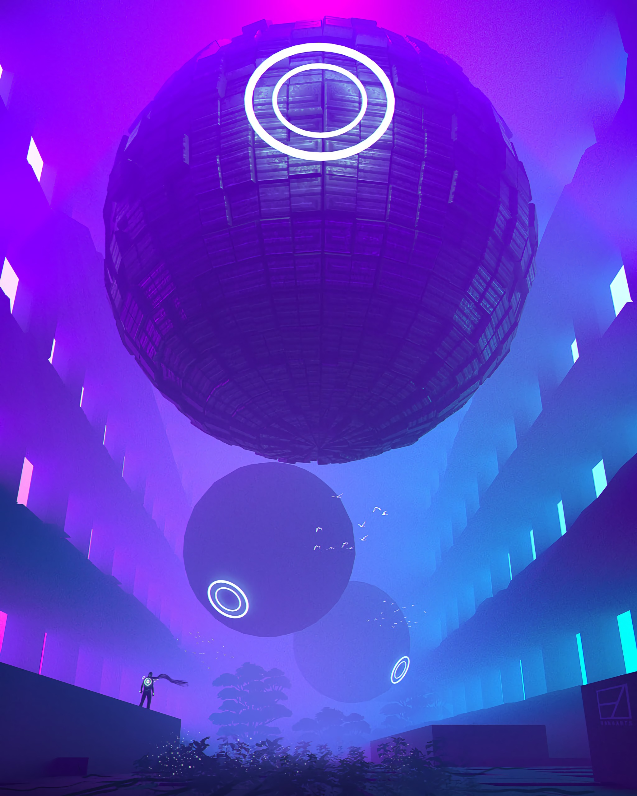 66510 Screensavers and Wallpapers Balls for phone. Download Art, Neon, Balls, Sci-Fi, Sphere, Spheres pictures for free