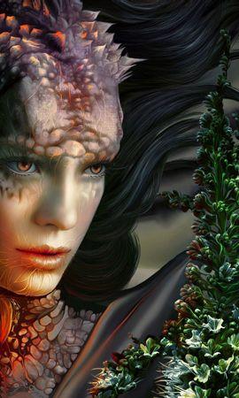 137087 baixar papel de parede Fantasia, Menina, Garota, Visão, Opinião, O Dragão, Dragão, Monstro - protetores de tela e imagens gratuitamente