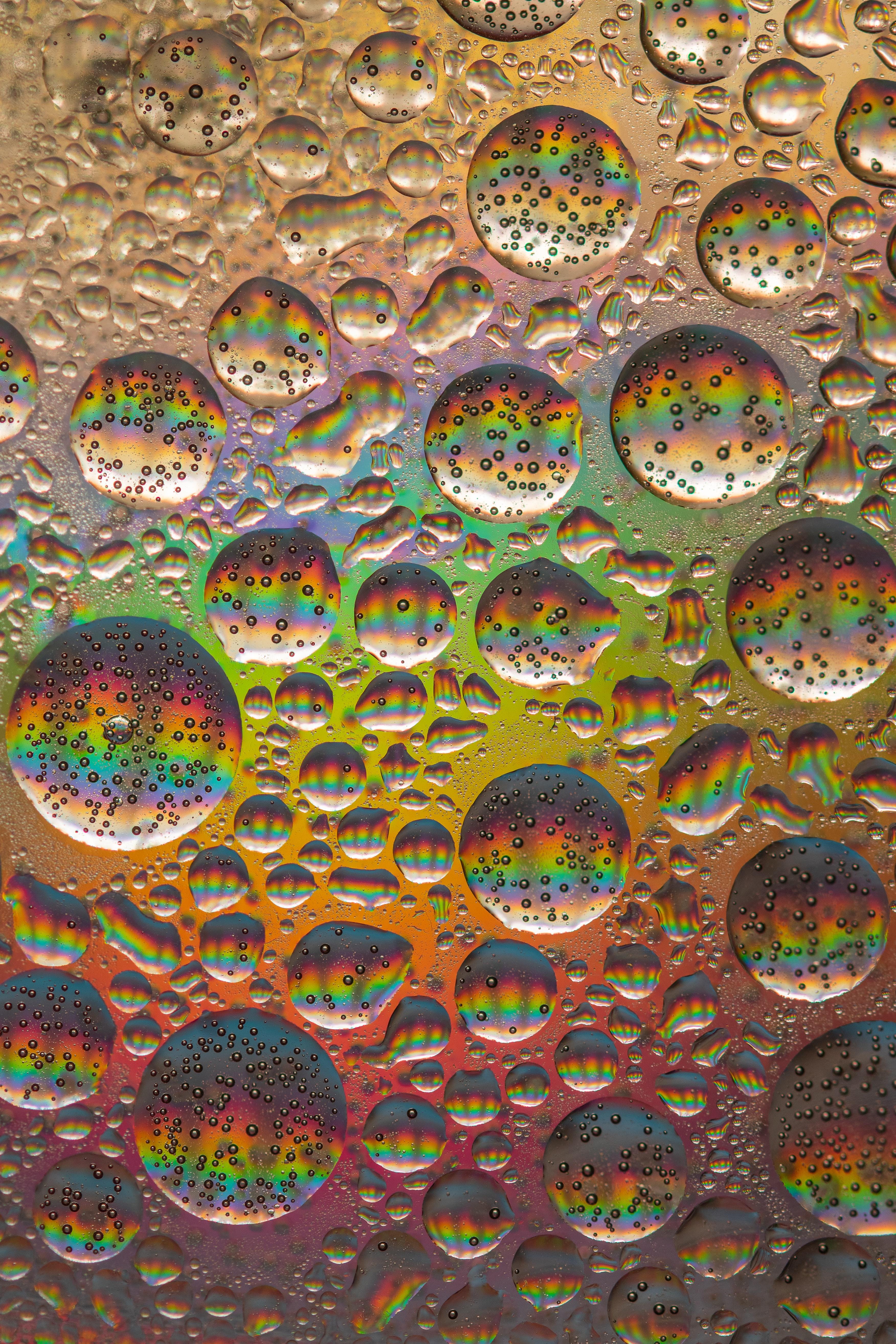 138360 Заставки и Обои Радуга на телефон. Скачать Абстракция, Пузыри, Радуга, Круглый картинки бесплатно