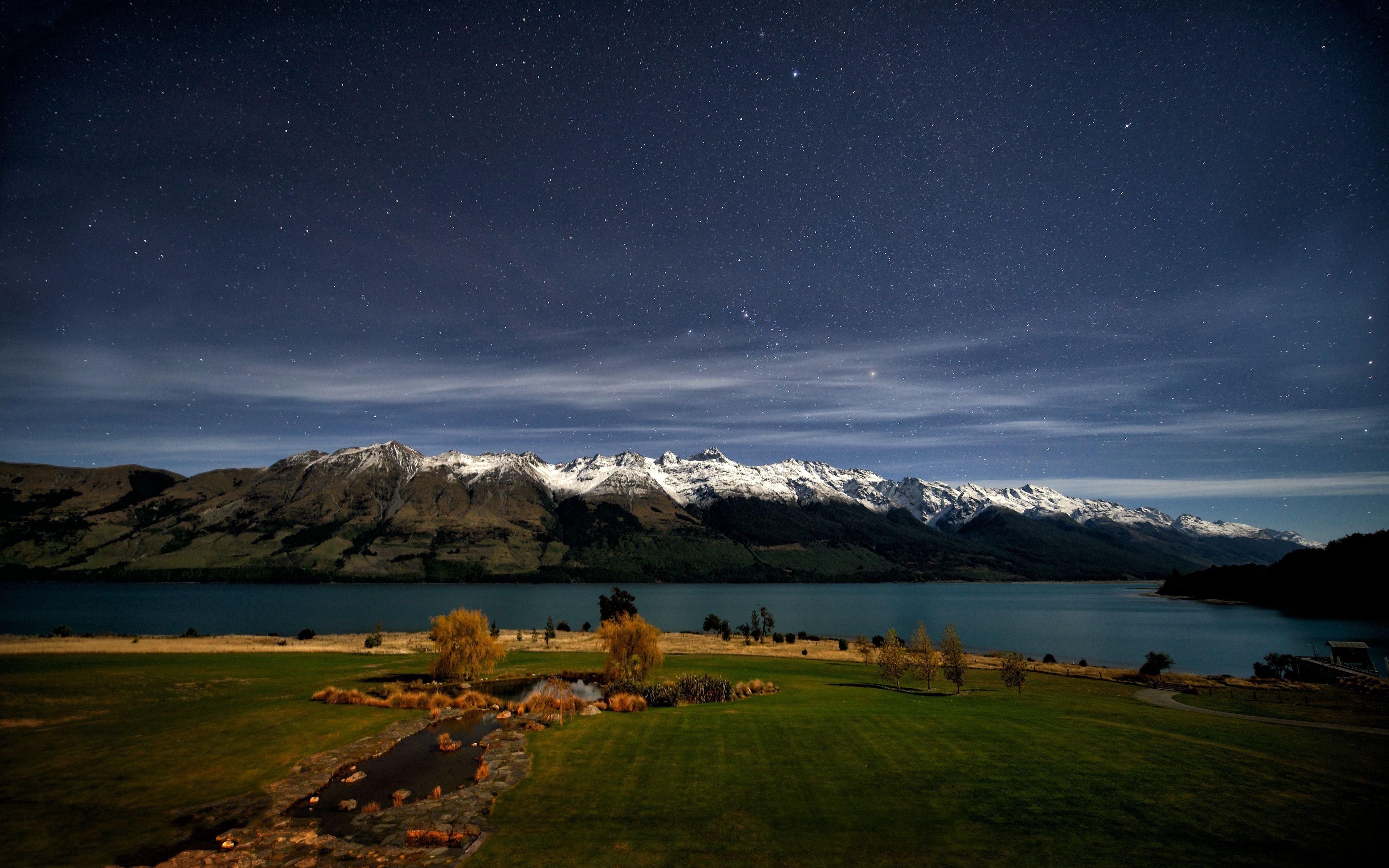 20307 Заставки и Обои Озера на телефон. Скачать Озера, Горы, Пейзаж, Небо картинки бесплатно