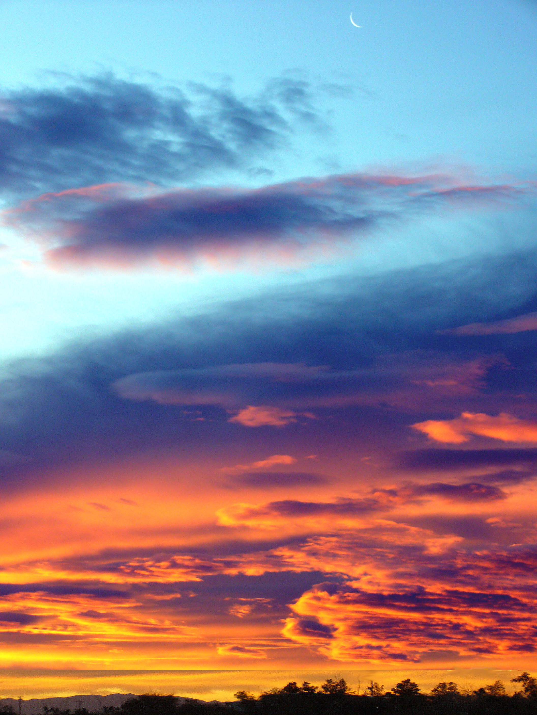 17199 скачать обои Пейзаж, Закат, Небо, Облака - заставки и картинки бесплатно