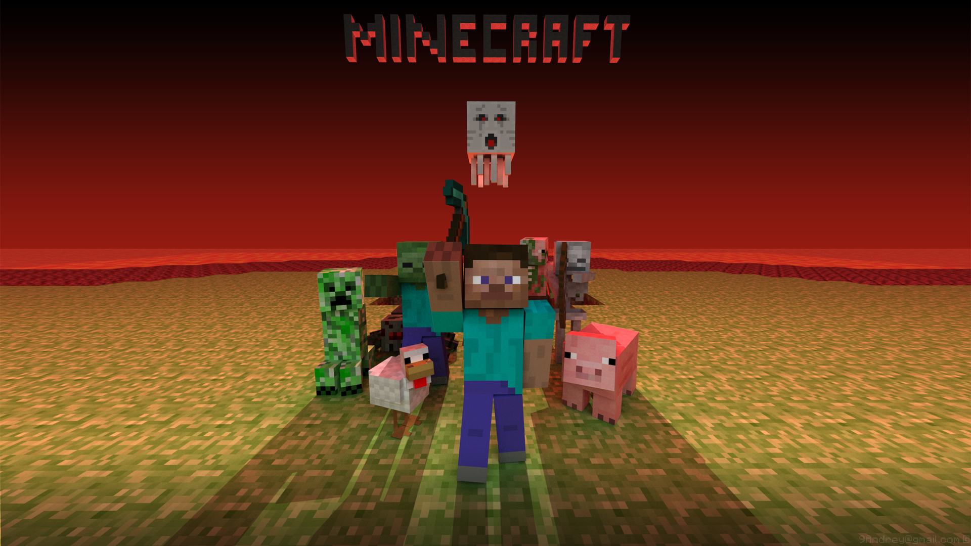 29525 Screensavers and Wallpapers Minecraft for phone. Download Minecraft pictures for free