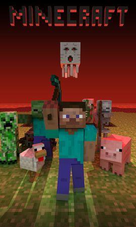 29525 télécharger le fond d'écran Minecraft - économiseurs d'écran et images gratuitement