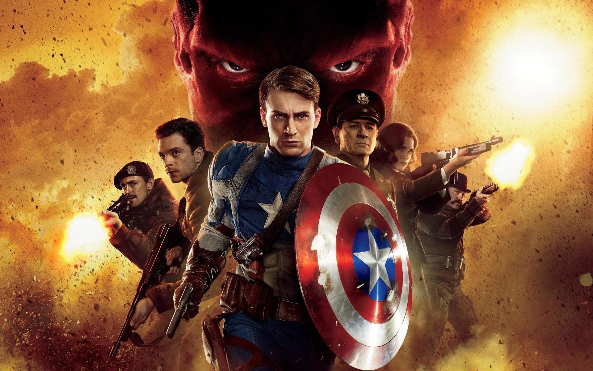20517 baixar papel de parede Capitão América, Cinema - protetores de tela e imagens gratuitamente