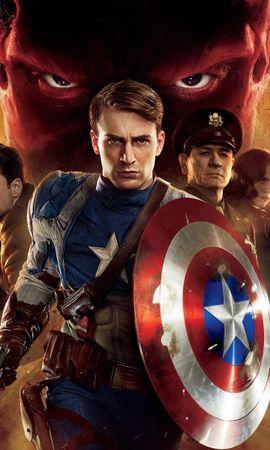 20517 descargar fondo de pantalla Cine, Capitán América: protectores de pantalla e imágenes gratis
