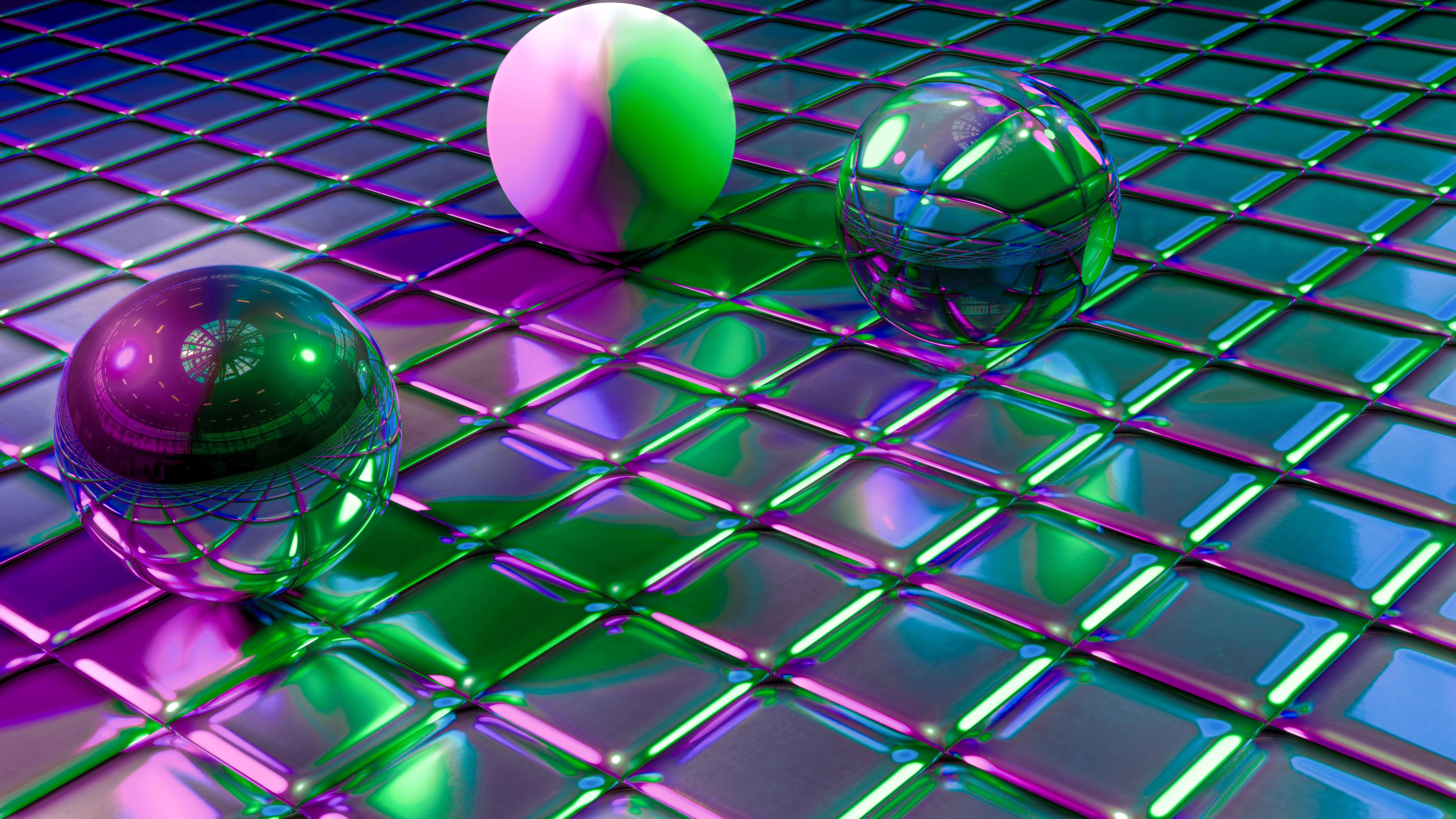138261 Screensavers and Wallpapers Balls for phone. Download 3D, Reflection, Shine, Brilliance, Form, Forms, Balls, Cuba pictures for free