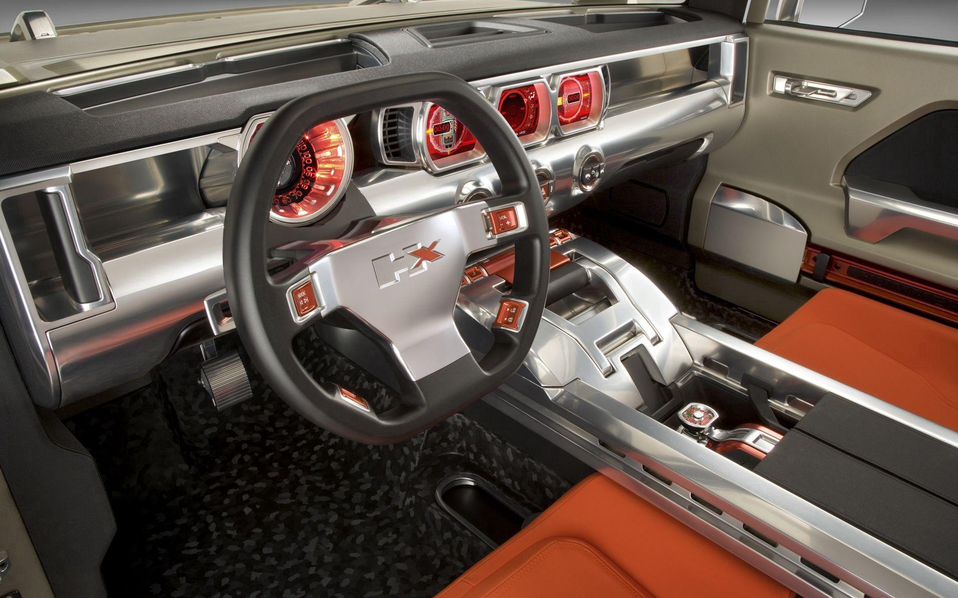 87805 скачать обои Тачки (Cars), Хаммер (Hummer), Hx, Concept, Хаммер, Салон - заставки и картинки бесплатно