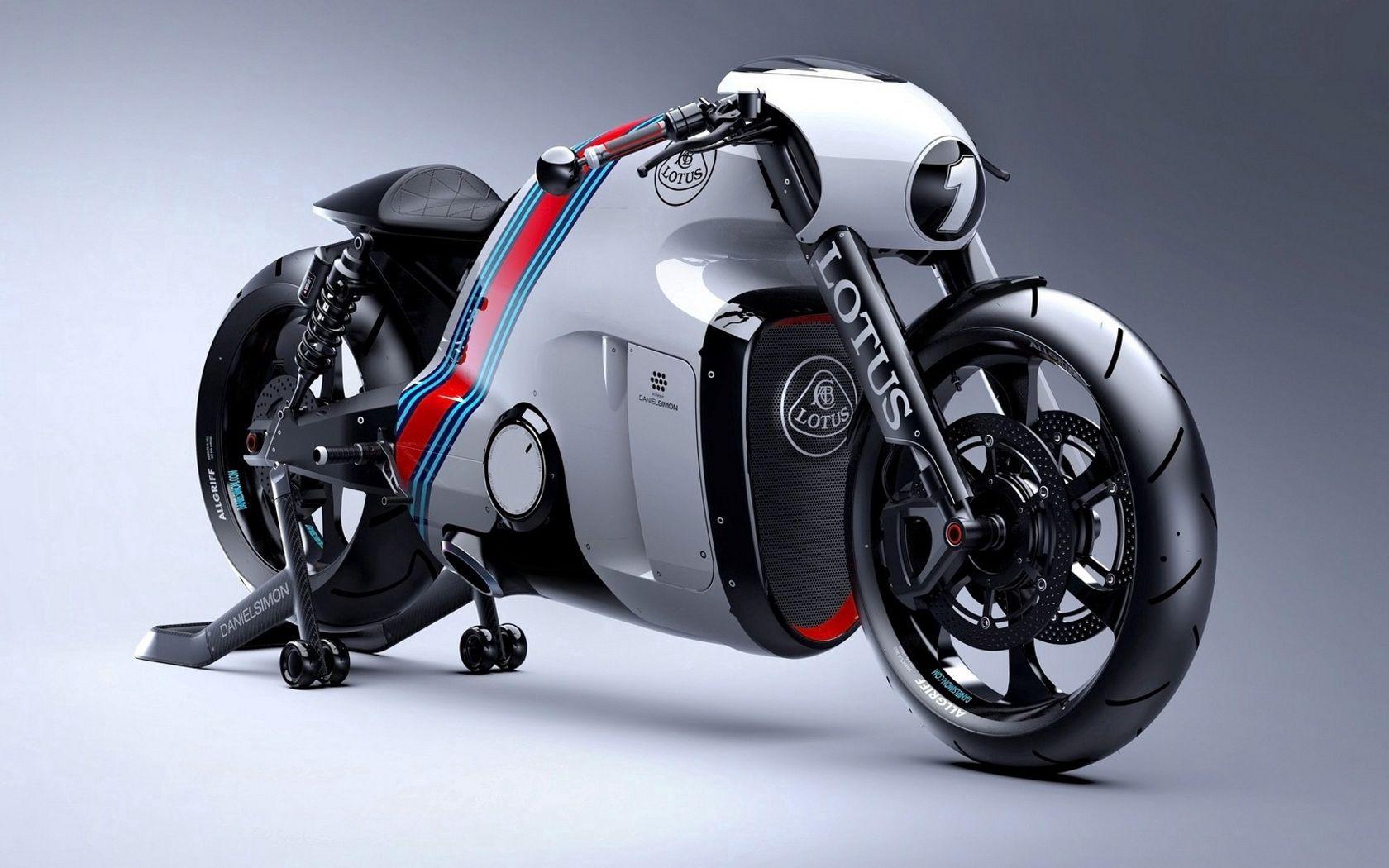 107708 скачать обои Мотоциклы, Мотоцикл, Лотус (Lotus), Gt, Вид Сбоку - заставки и картинки бесплатно