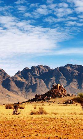 27197 скачать обои Пейзаж, Небо, Горы, Пустыня - заставки и картинки бесплатно