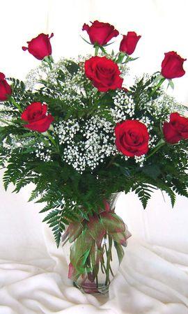 11757 скачать обои Праздники, Растения, Цветы, Розы, 8 Марта - заставки и картинки бесплатно