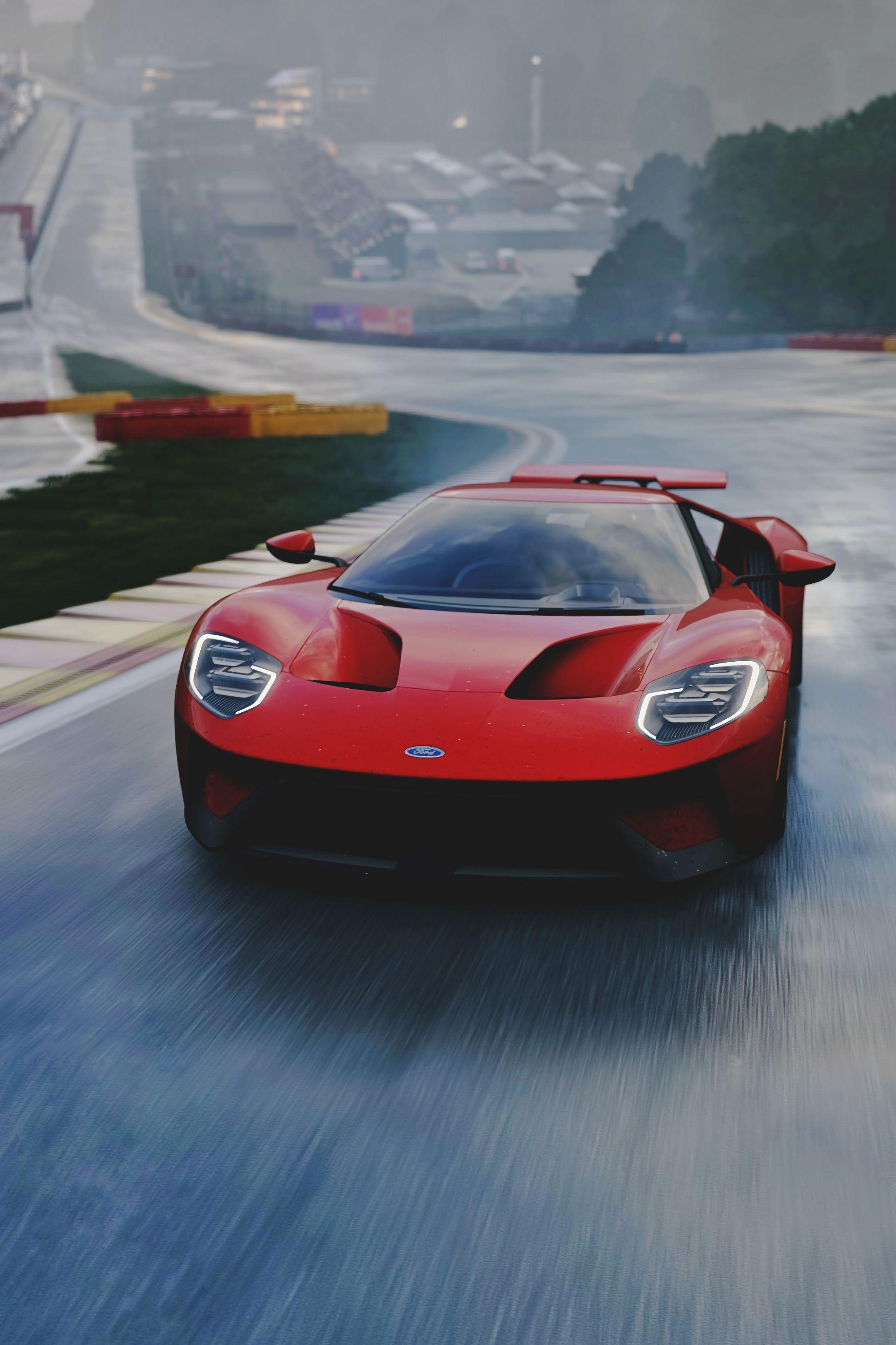 123828 Hintergrundbild herunterladen Ford, Sport, Cars, Vorderansicht, Frontansicht, Sportwagen, Supersportwagen, Ford Gt - Bildschirmschoner und Bilder kostenlos