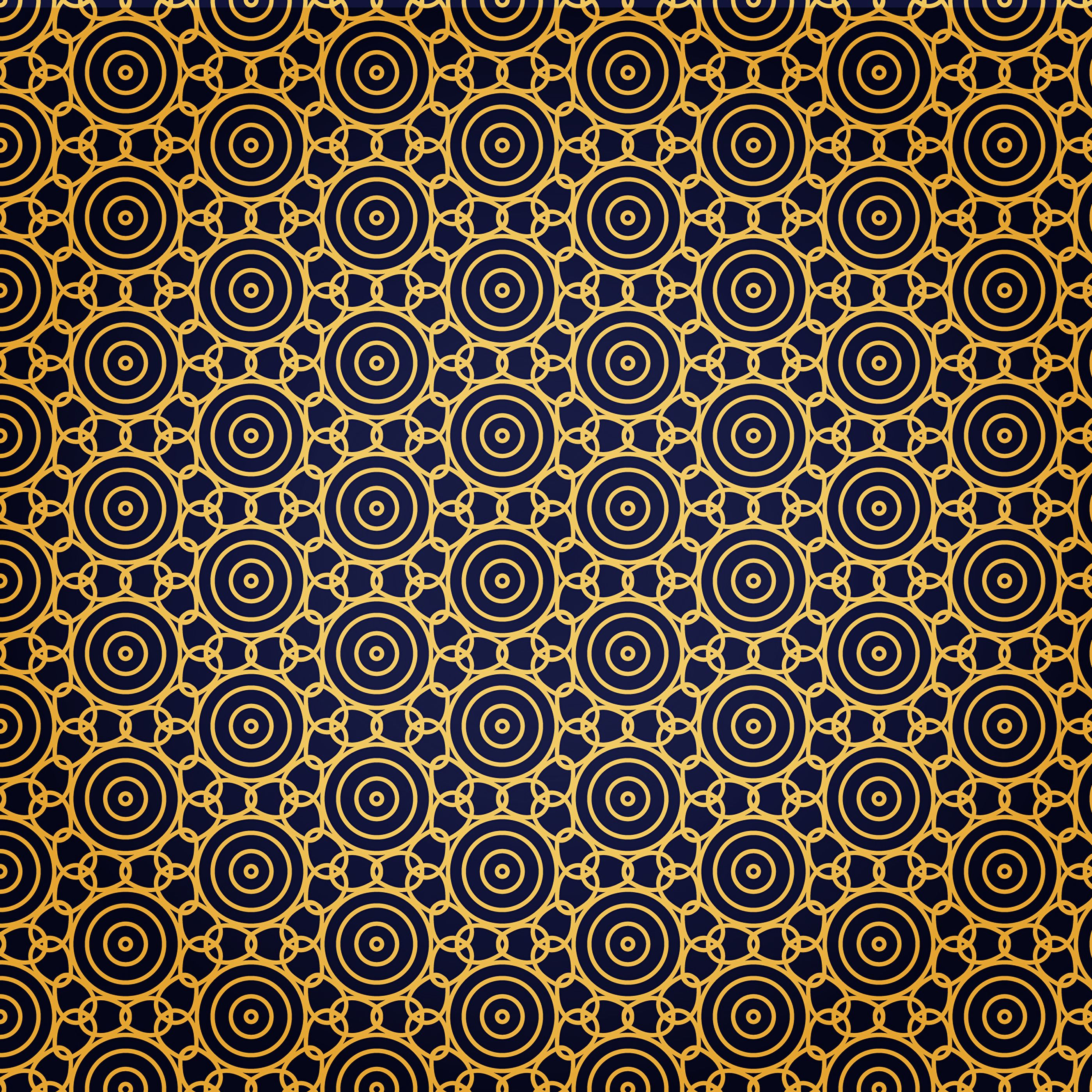 55643 download wallpaper Textures, Texture, Circles, Pattern, Gold, Golden, Chain screensavers and pictures for free