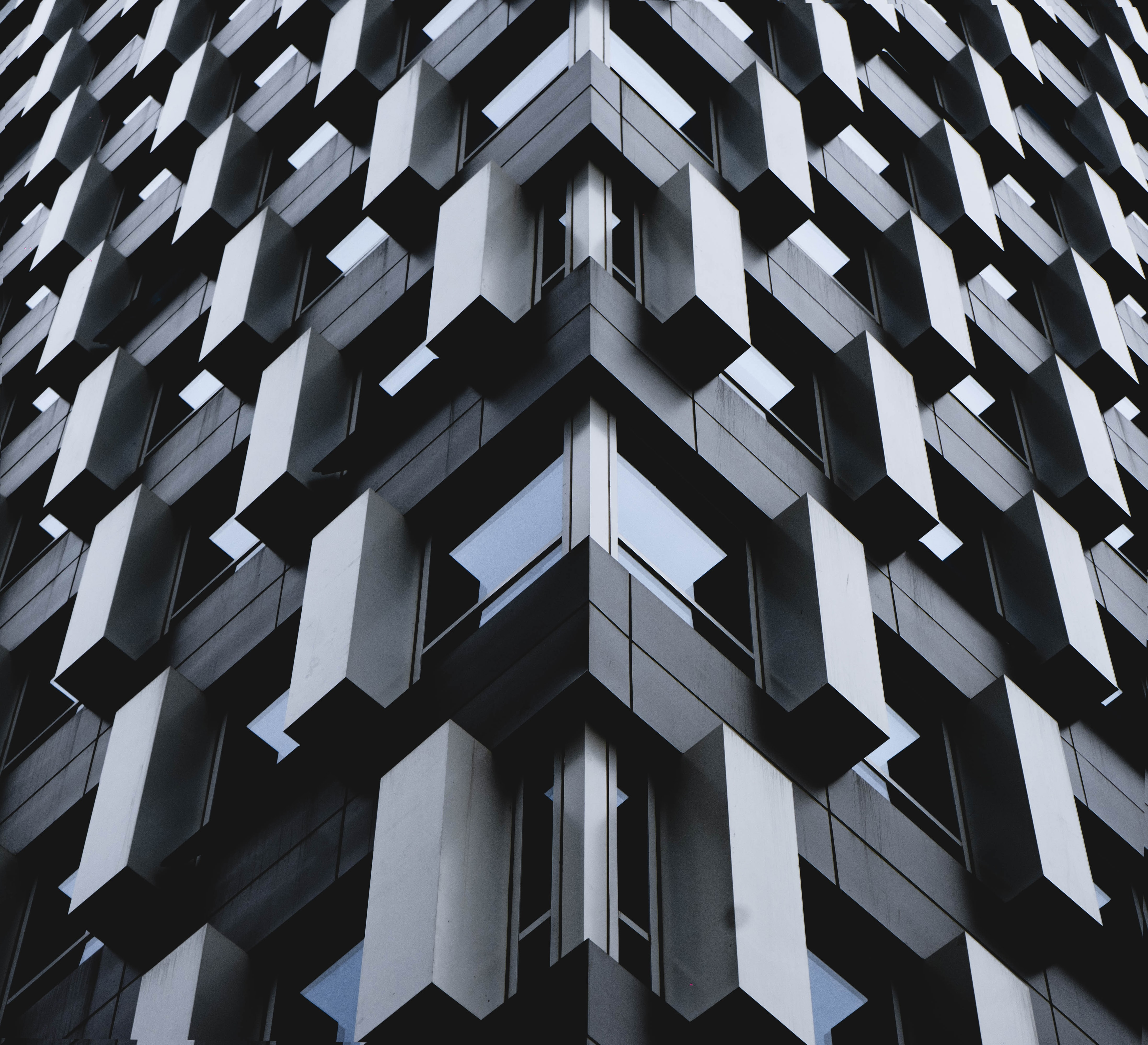 155749 Screensavers and Wallpapers Architecture for phone. Download Miscellanea, Miscellaneous, Building, Facade, Modern, Up To Date, Grey, Architecture pictures for free