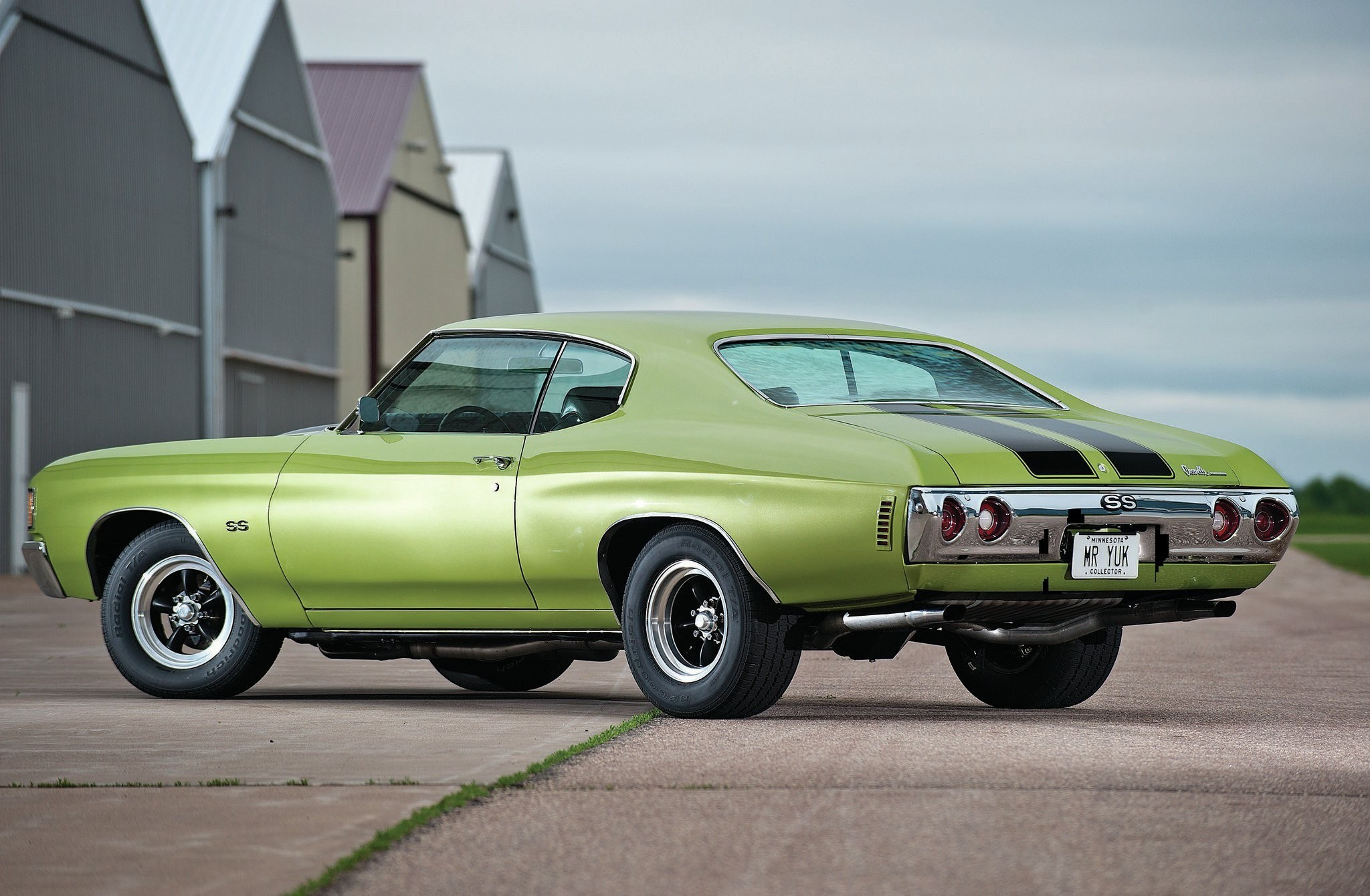 73977 скачать обои Тачки (Cars), 1972, Шевроле (Chevrolet), Chevelle, Зеленый, Машины - заставки и картинки бесплатно