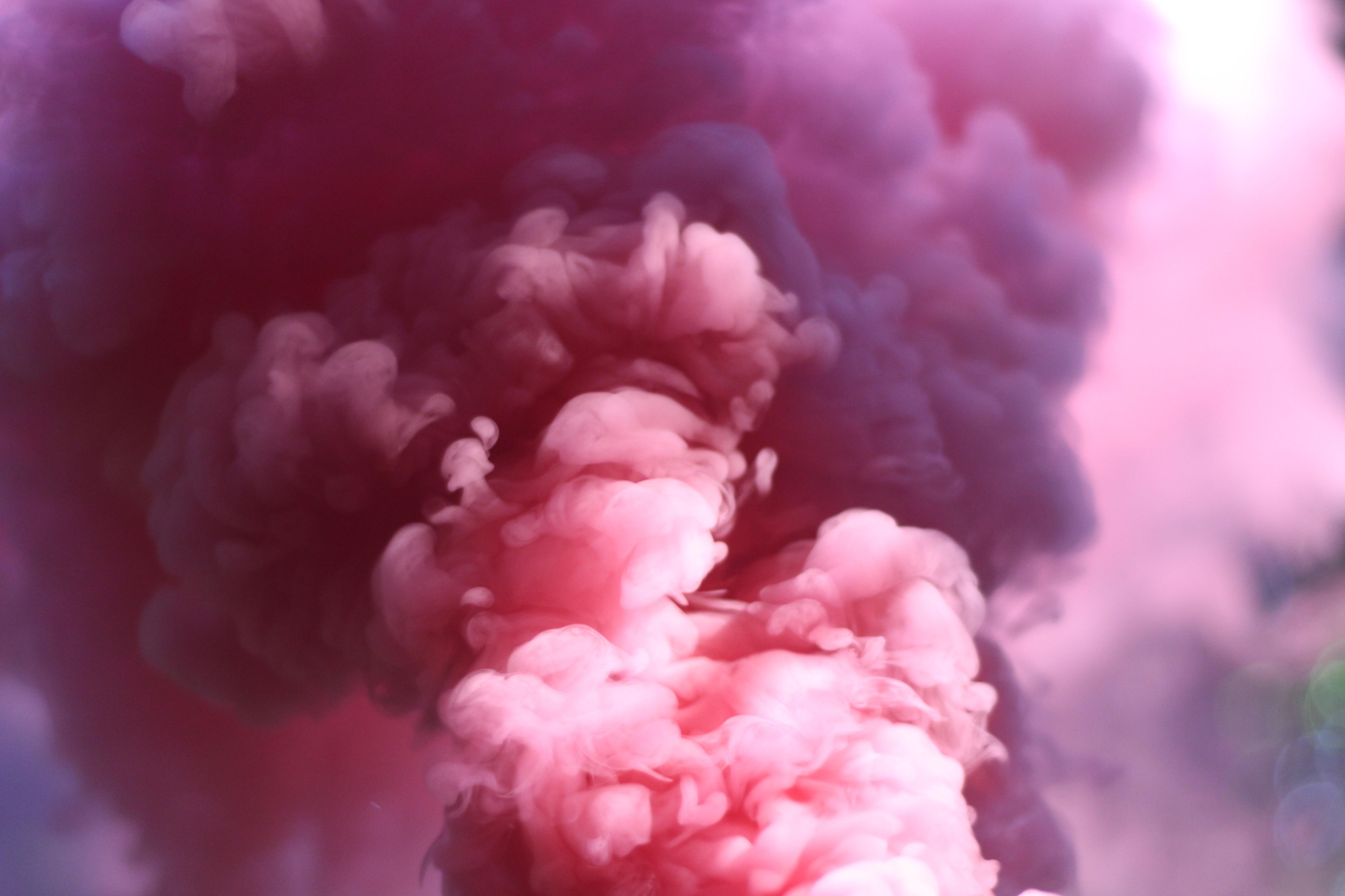 152868 Заставки и Обои Дым на телефон. Скачать Абстракция, Дым, Розовый, Пелена картинки бесплатно