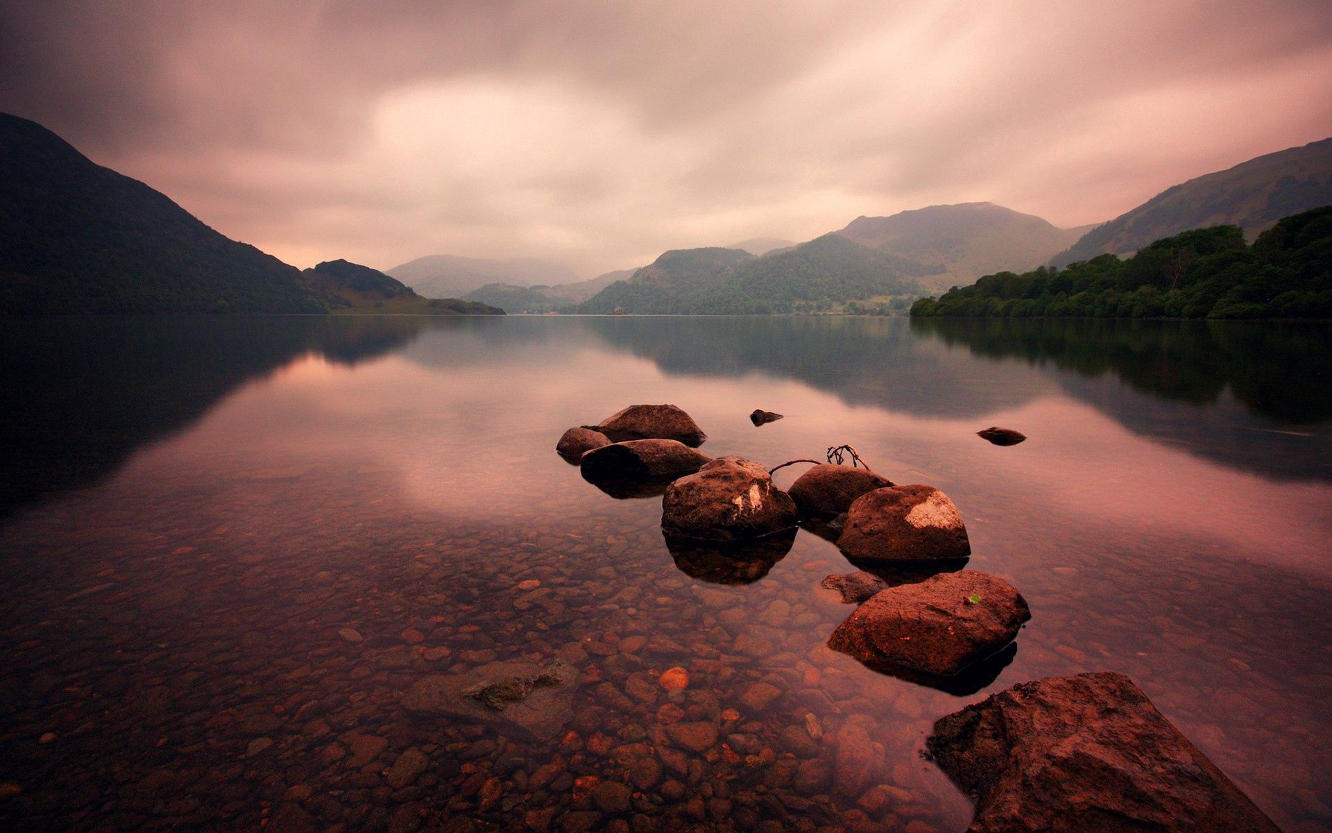 140504 download wallpaper Nature, Stones, Mountains, Lake screensavers and pictures for free