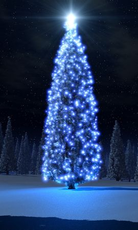 2736 descargar fondo de pantalla Vacaciones, Árboles, Año Nuevo, Abetos, Navidad: protectores de pantalla e imágenes gratis