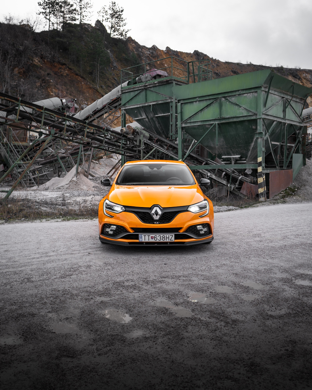 154722 Hintergrundbild herunterladen Auto, Renault, Cars, Wagen, Vorderansicht, Frontansicht, Renault Megane - Bildschirmschoner und Bilder kostenlos