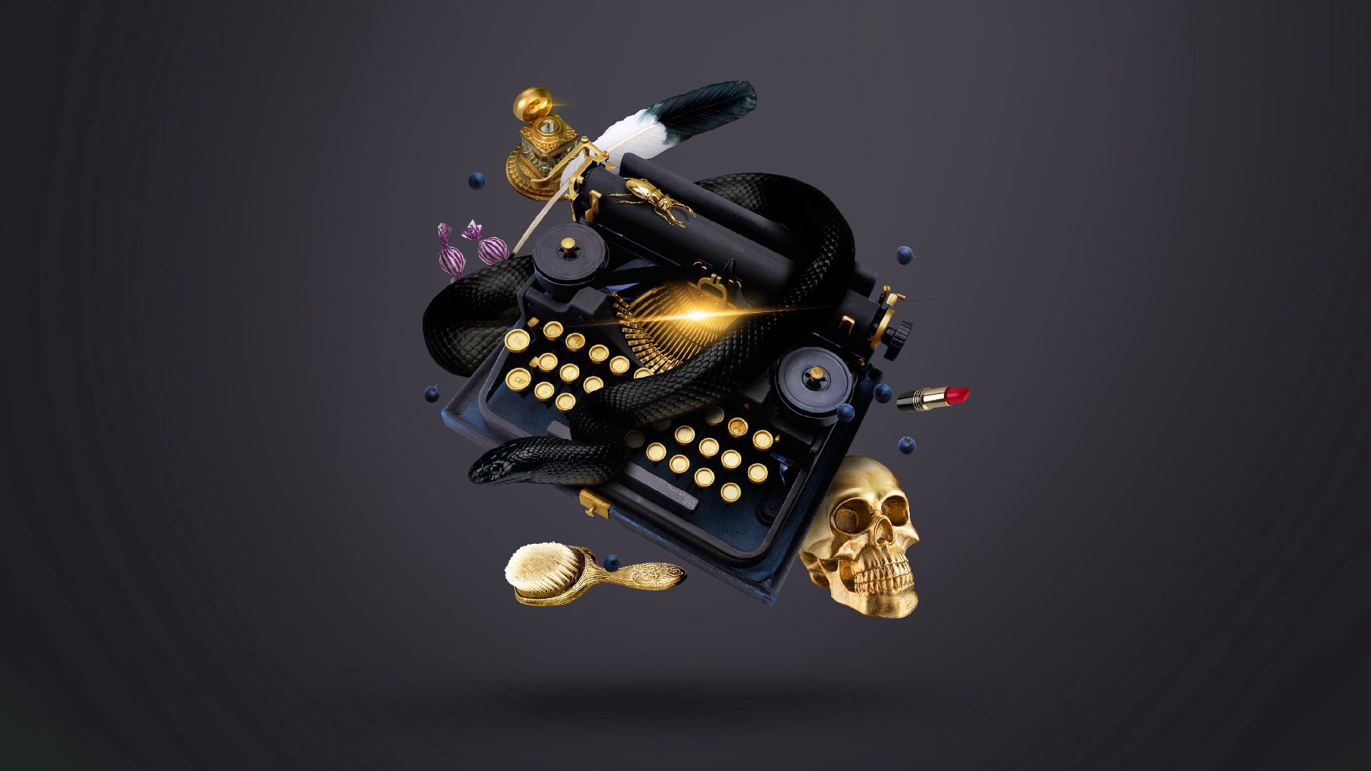 124401 Screensavers and Wallpapers Snake for phone. Download Abstract, Snake, Typewriter, Ink, Skull, Witch pictures for free