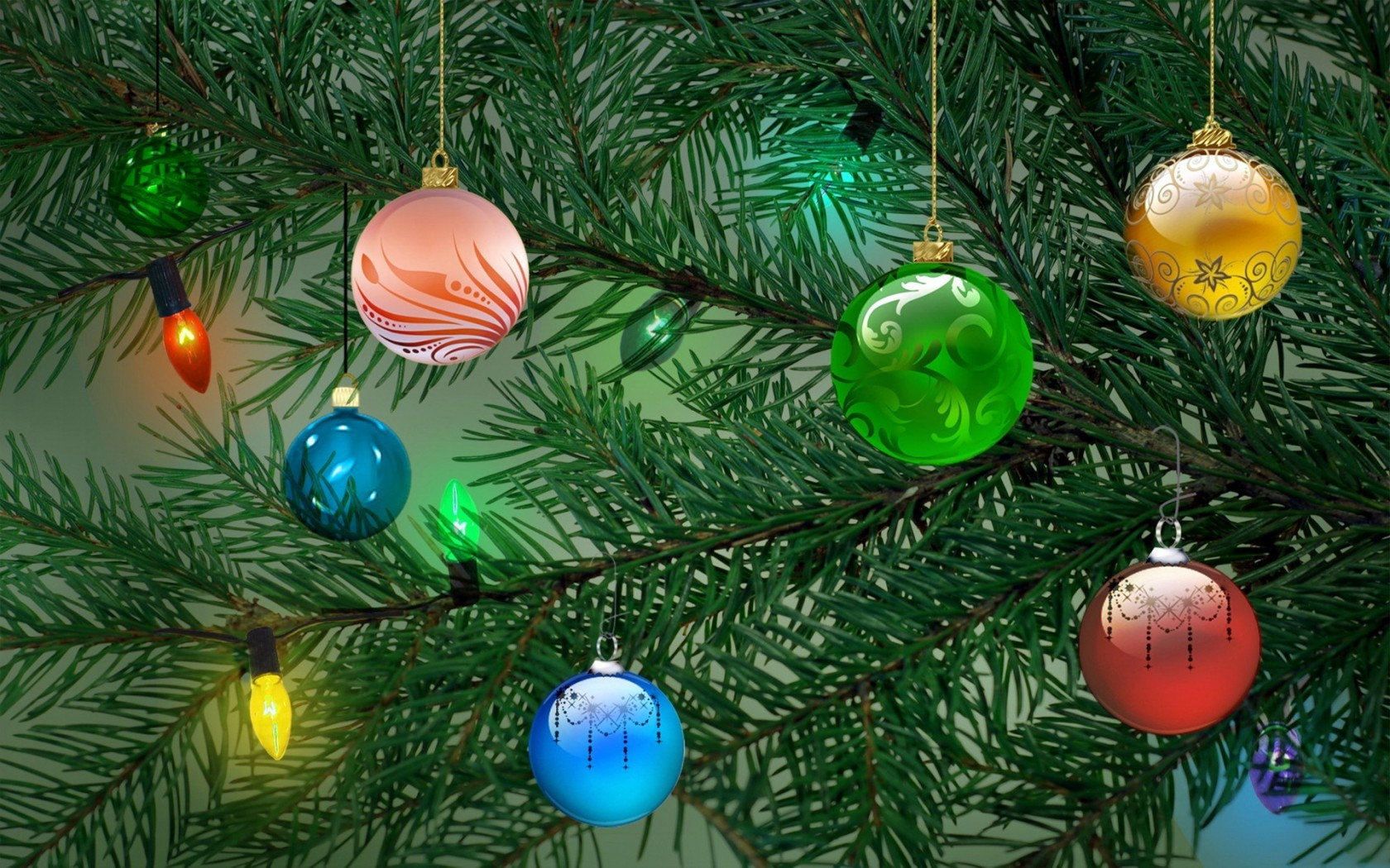 42312 скачать обои Растения, Новый Год (New Year), Елки - заставки и картинки бесплатно