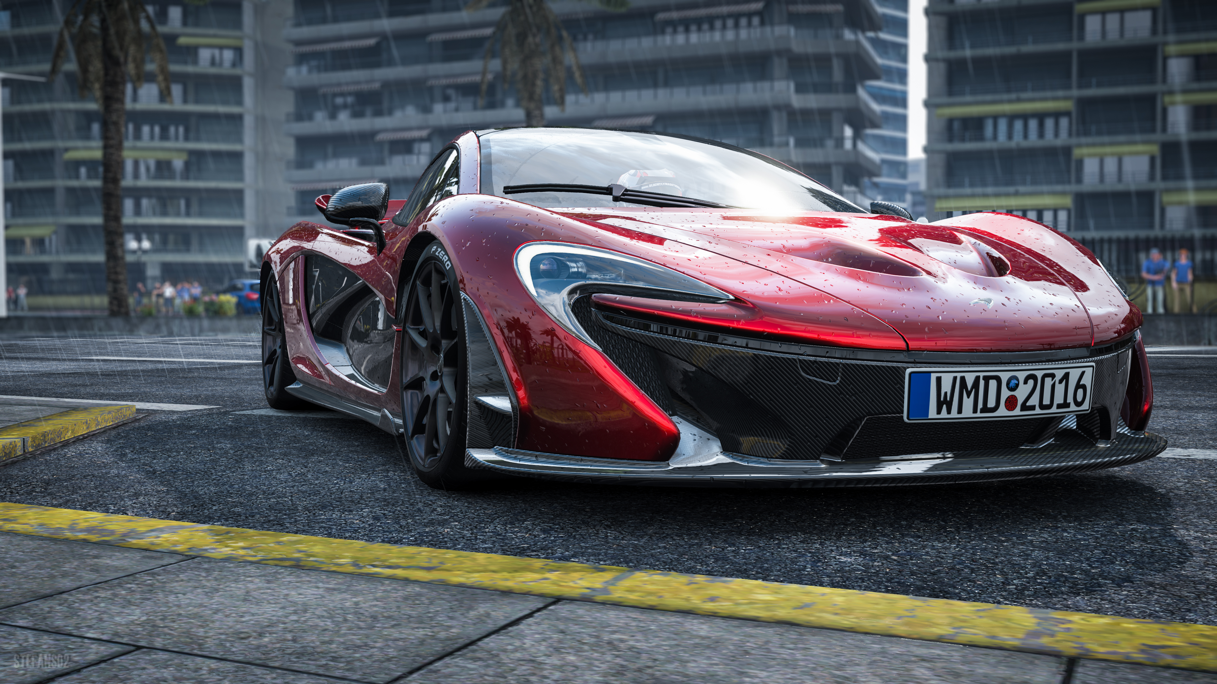54325 download wallpaper Sports, Mclaren, Cars, Front View, Sports Car, Supercar, Mclaren P1 screensavers and pictures for free