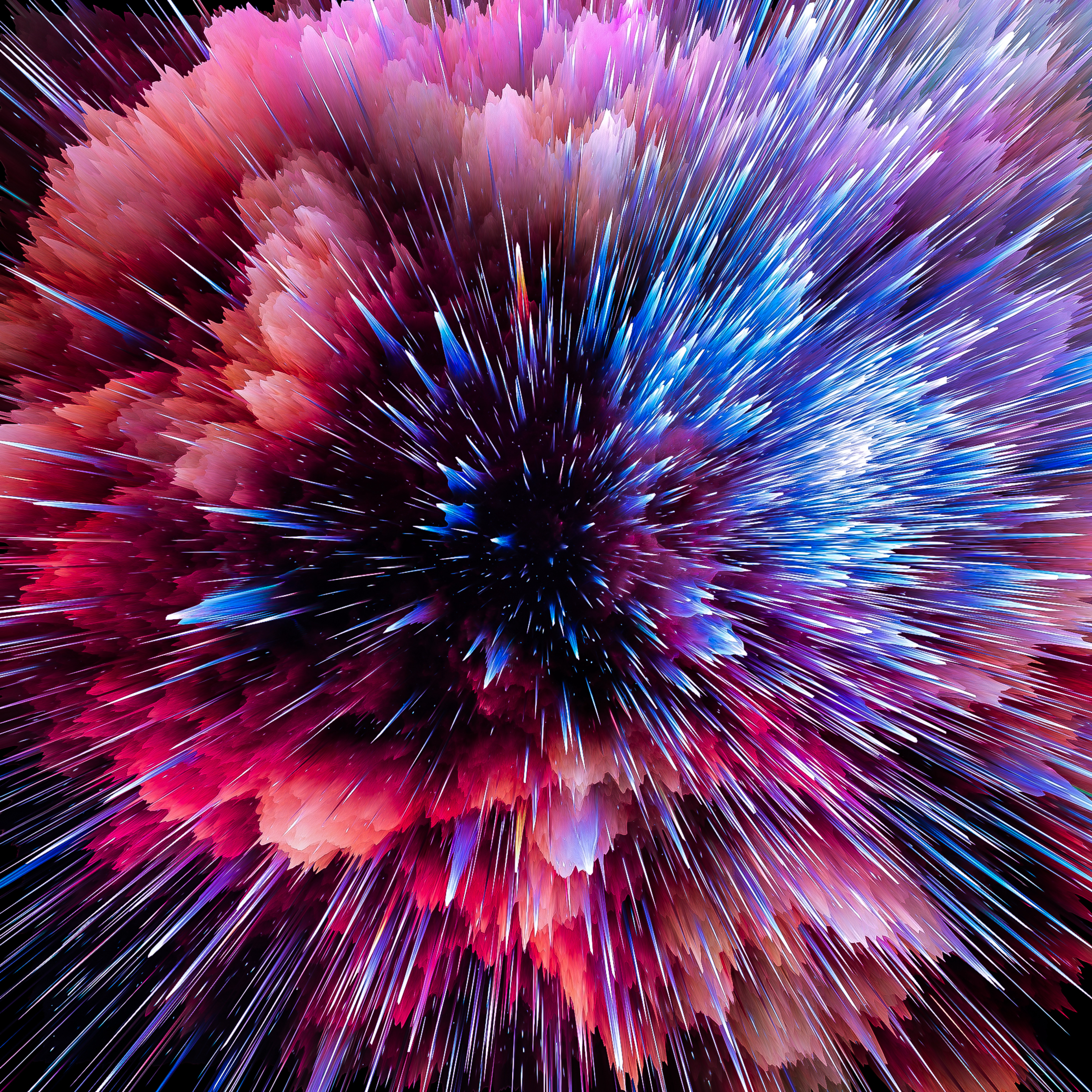 145534 download wallpaper 3D, Bright, Multicolored, Motley, Flash, Space, Cosmic, Shards, Smithereens, Scatter screensavers and pictures for free