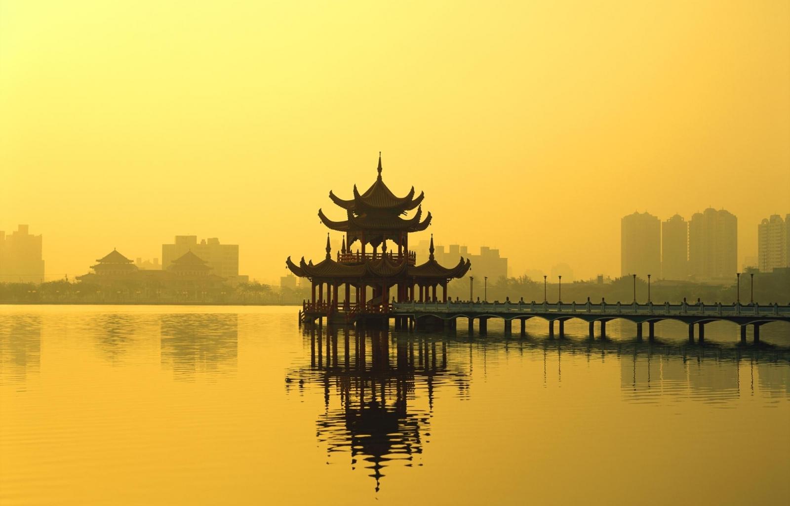 2924 скачать обои Вода, Мосты, Архитектура, Азия - заставки и картинки бесплатно