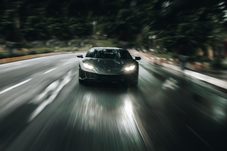 71759 Hintergrundbild herunterladen Lamborghini, Sport, Auto, Cars, Straße, Maschine, Sportwagen, Geschwindigkeit, Lamborghini Huracan Evo - Bildschirmschoner und Bilder kostenlos