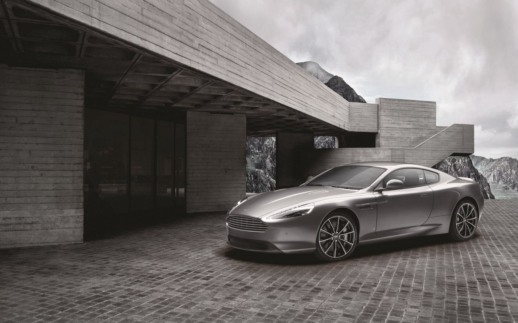 78743 download wallpaper Aston Martin, Cars, Grey, Side View, Gt, Db9 screensavers and pictures for free