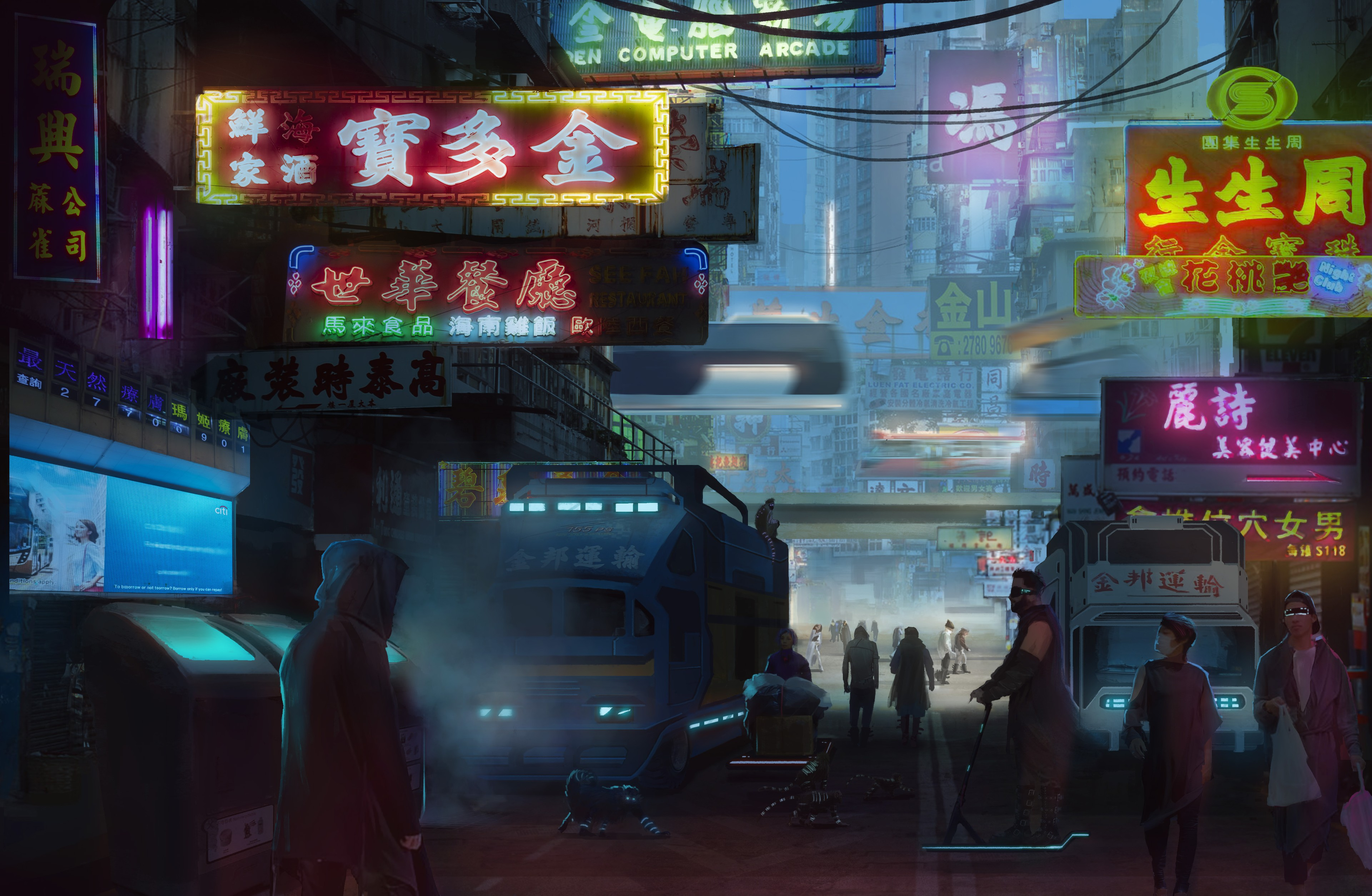 58027 download wallpaper Art, Future, China, Technologies, Technology screensavers and pictures for free