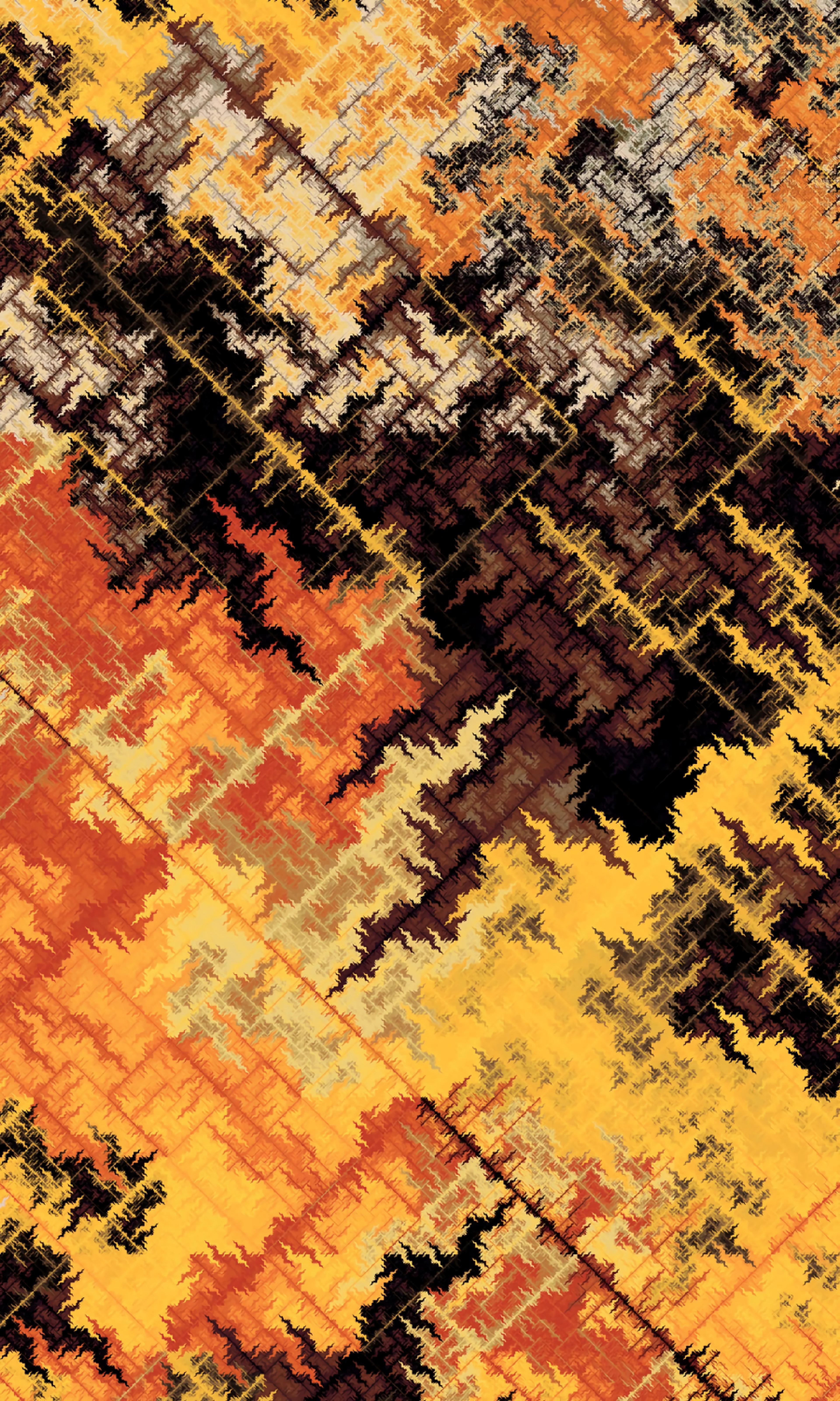 119515 Protetores de tela e papéis de parede Abstrato em seu telefone. Baixe Abstrato, Multicolorido, Motley, Padrão, Linhas, Fractal fotos gratuitamente