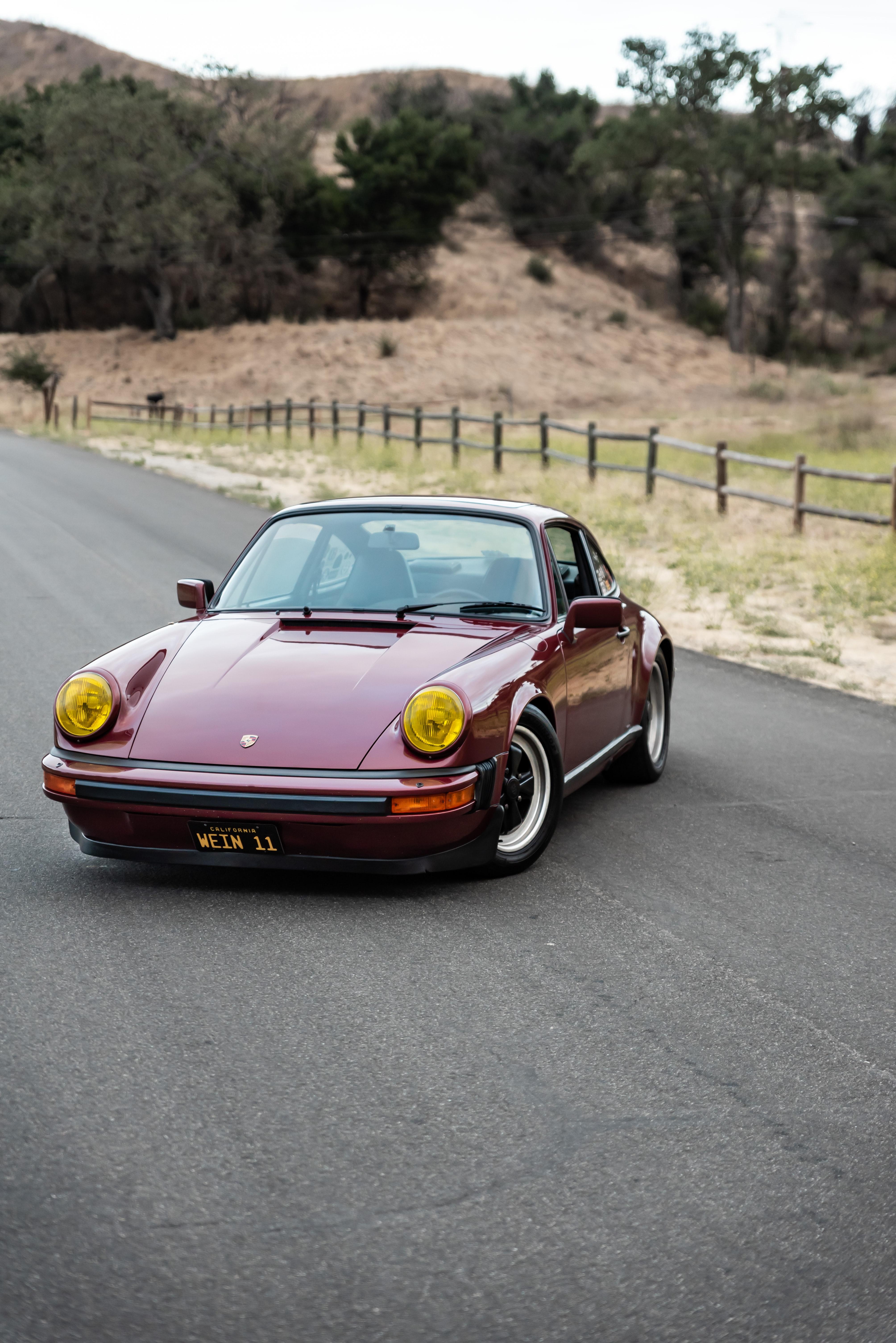 148088 Заставки и Обои Порш (Porsche) на телефон. Скачать Порш (Porsche), Тачки (Cars), Красный, Автомобиль, Спорткар, Porsche 911 Sc картинки бесплатно
