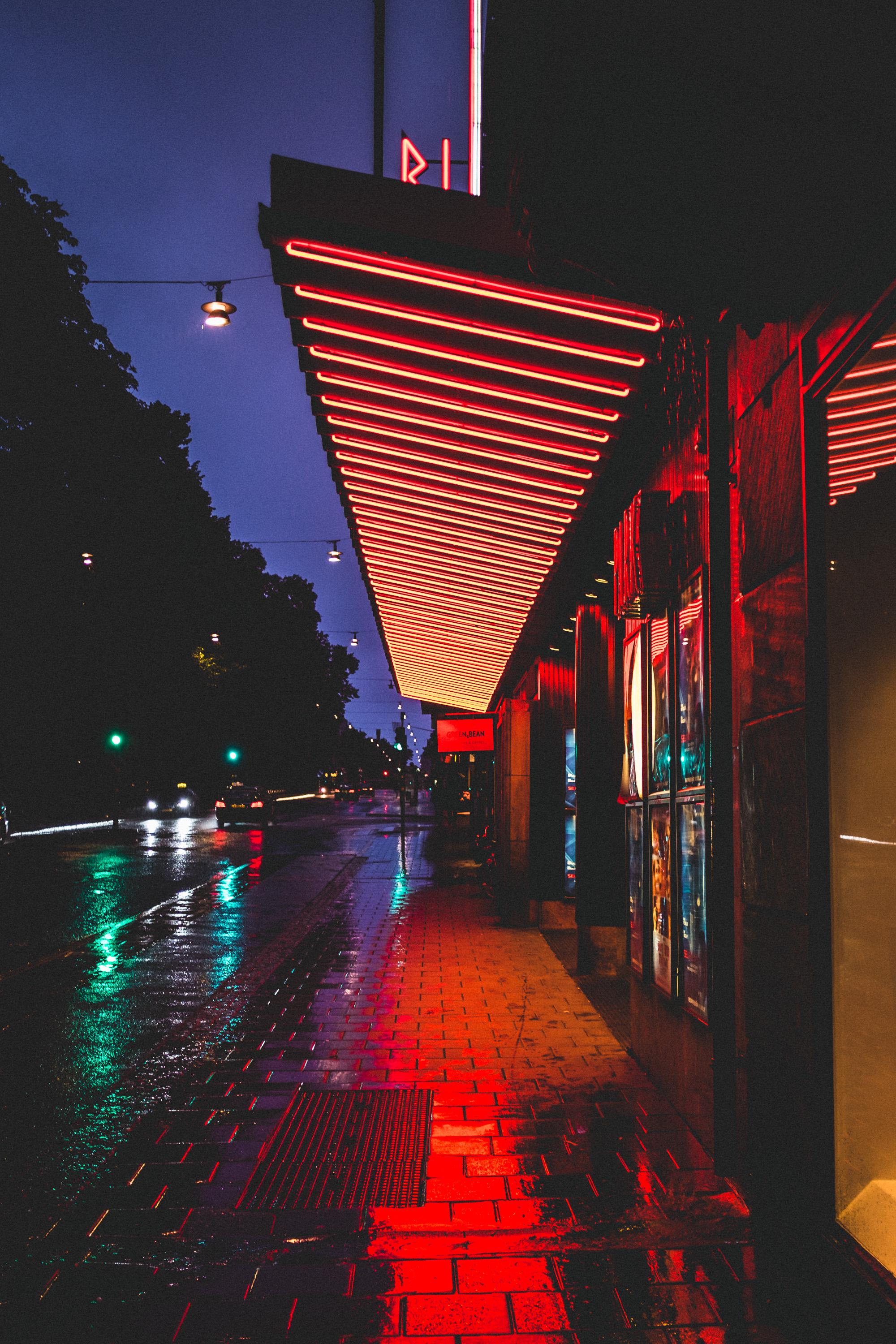 81135 Screensavers and Wallpapers Road for phone. Download City Lights, Road, Cities, Night, Building, Street, Stockholm, Sweden, Tile pictures for free