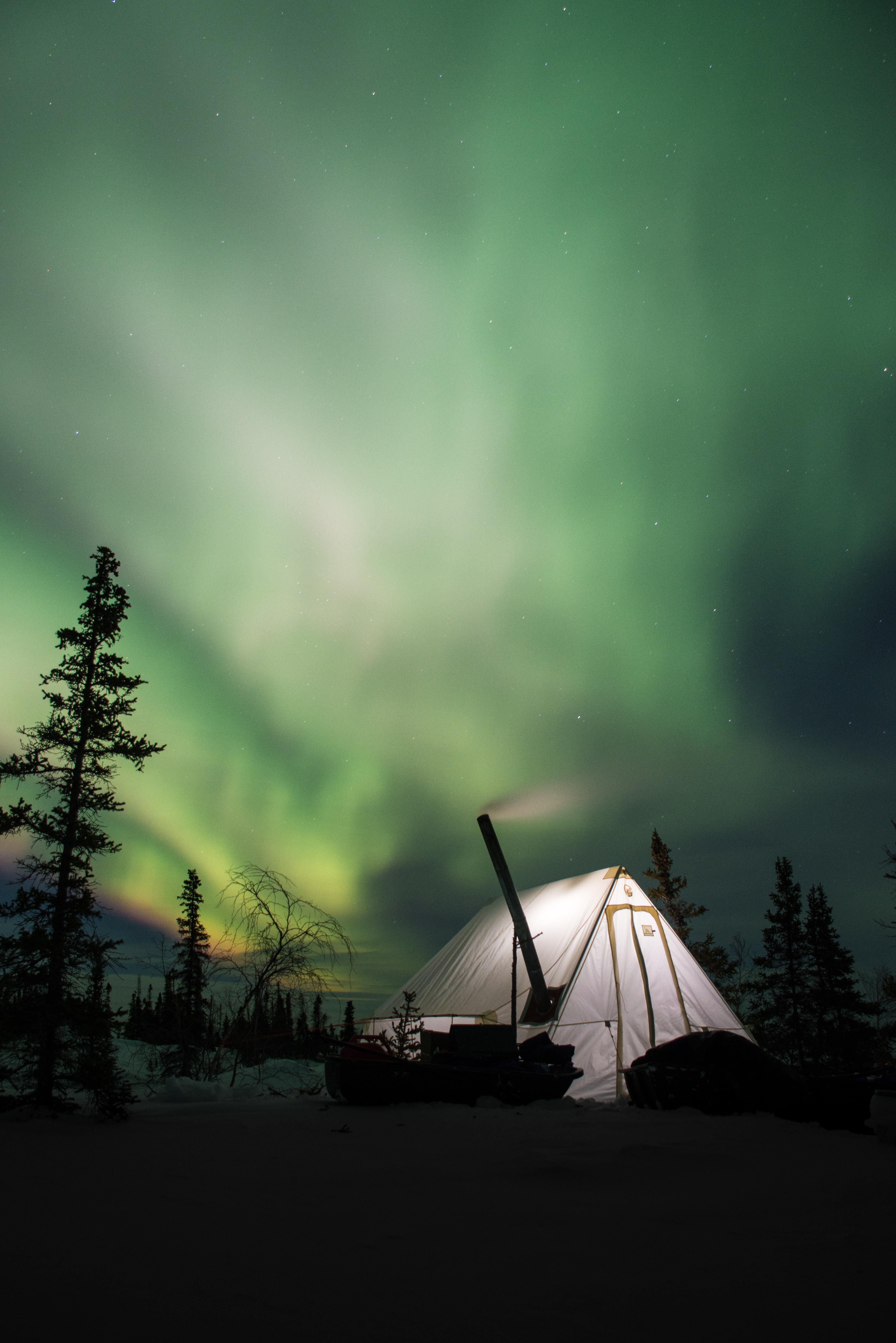 128572 download wallpaper Nature, Night, Northern Lights, Aurora Borealis, Aurora, Tent, Camping, Campsite screensavers and pictures for free