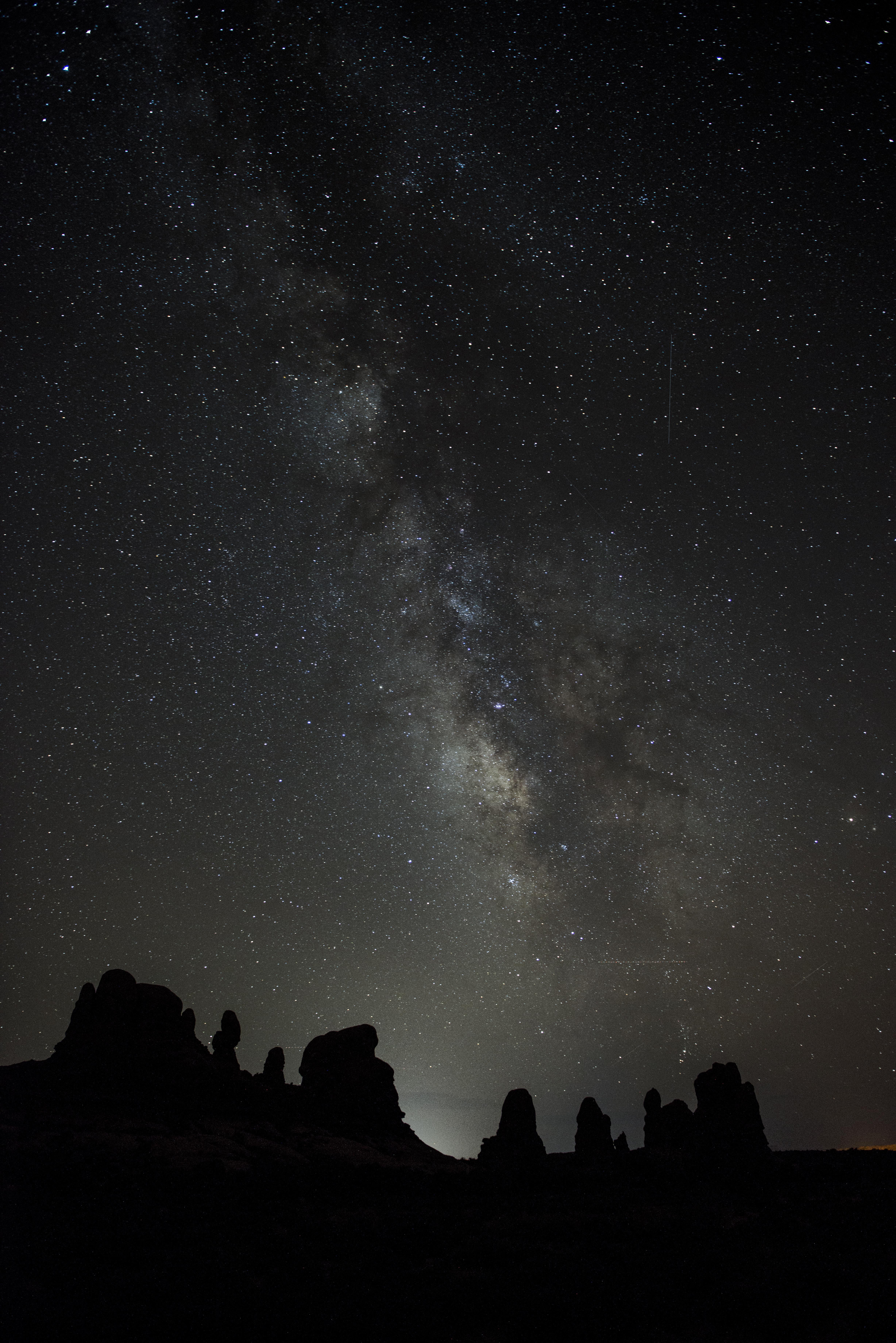 149637壁紙のダウンロード星空, 天の川, 山脈, スター, 宇宙-スクリーンセーバーと写真を無料で