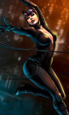 21005 télécharger le fond d'écran Fantaisie, Dessins, Catwoman - économiseurs d'écran et images gratuitement