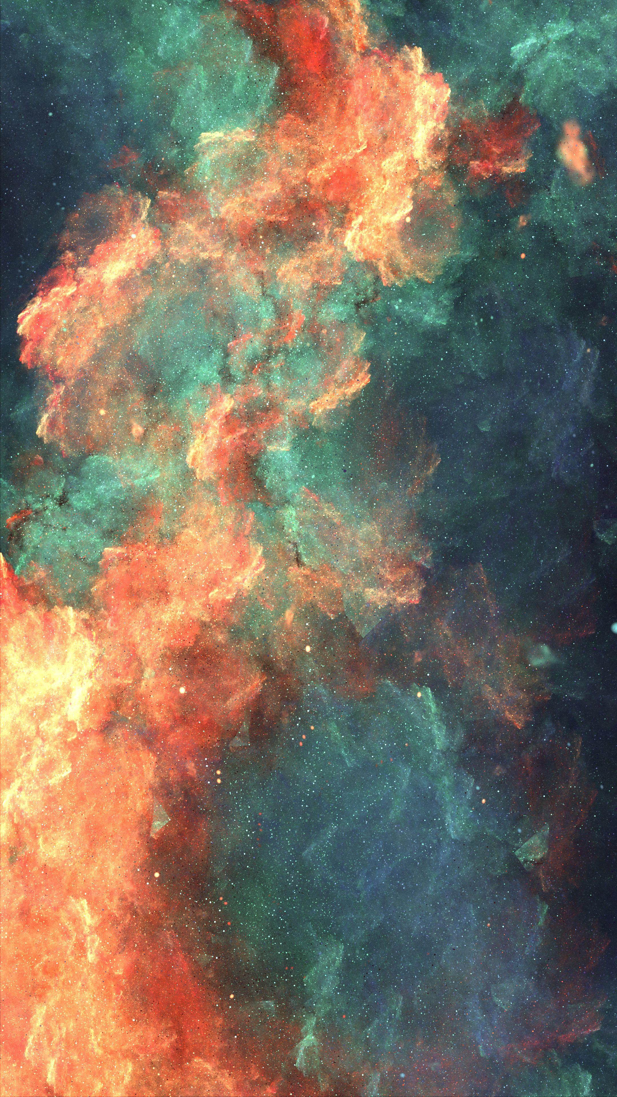 89975 免費下載壁紙 抽象, 星云, 云, 云端, 多彩多姿, 五颜六色, 火热, 火焰, 火花 屏保和圖片