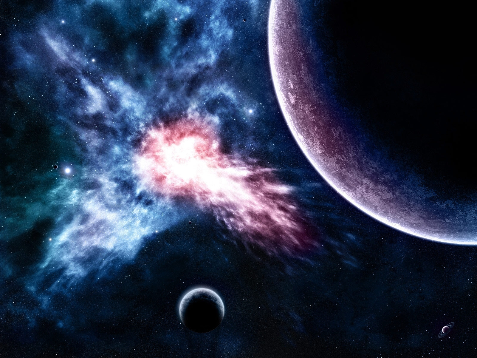 1297 download wallpaper Landscape, Art, Planets, Universe, Stars screensavers and pictures for free