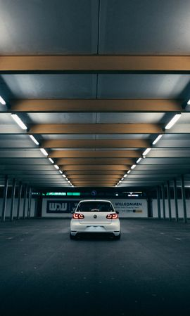 149314 Screensavers and Wallpapers Volkswagen for phone. Download Cars, Volkswagen Golf Gti, Volkswagen, Car, Back View, Rear View pictures for free